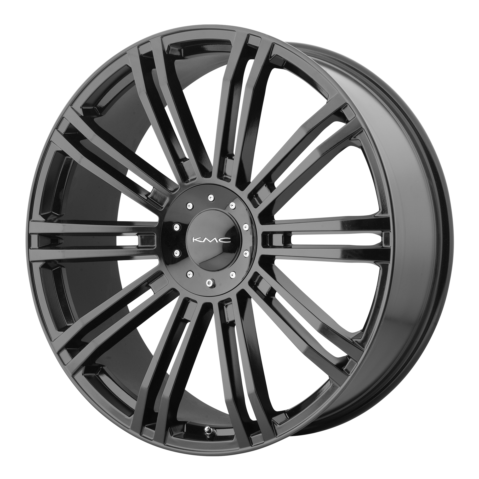 KMC Wheels D2 Gloss Black