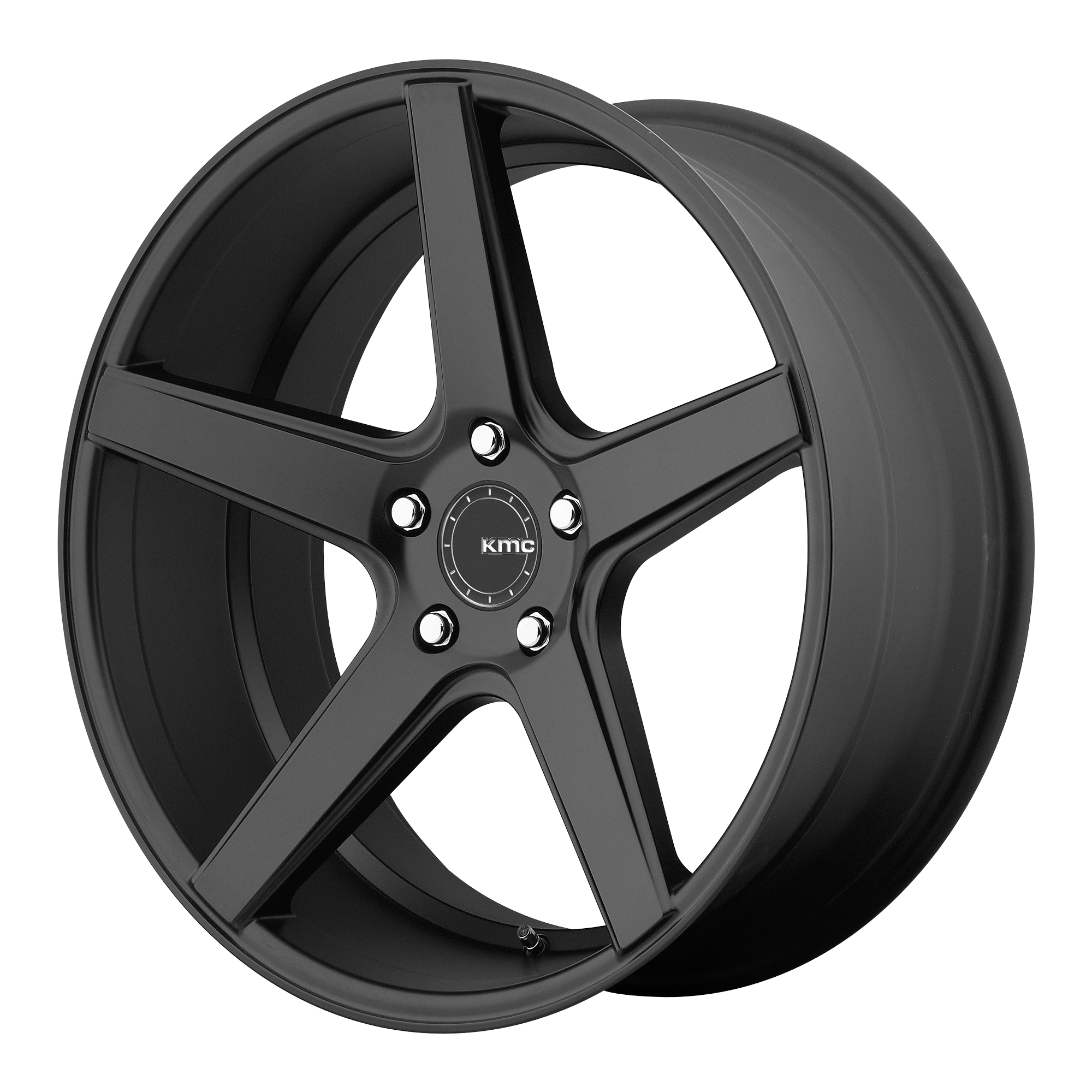 KMC Wheels DISTRICT Satin Black