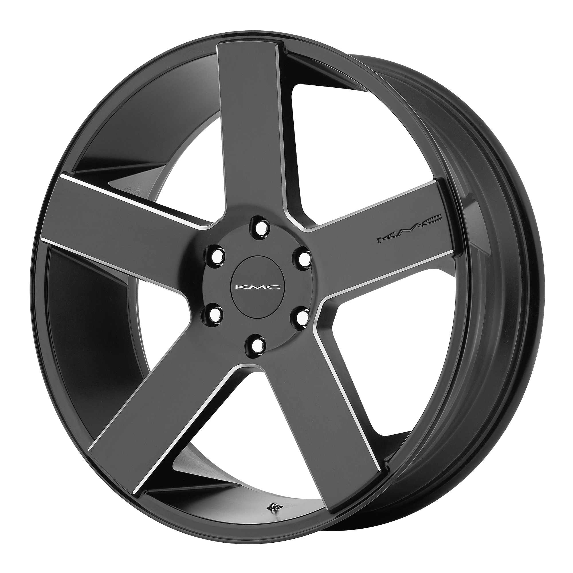 KMC Wheels MC 5 Satin Black w/ MILLING