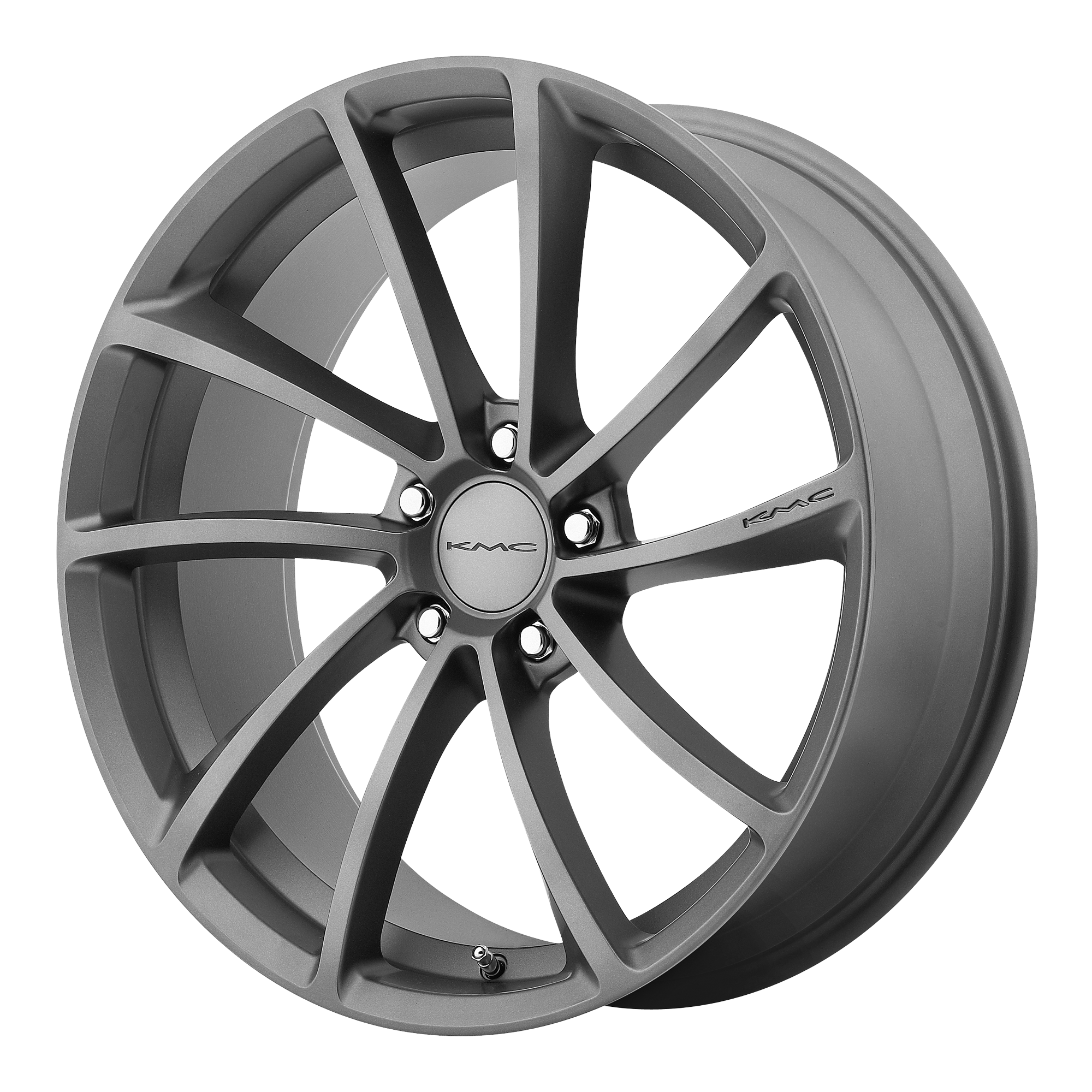 KMC Wheels SPIN GUN METAL
