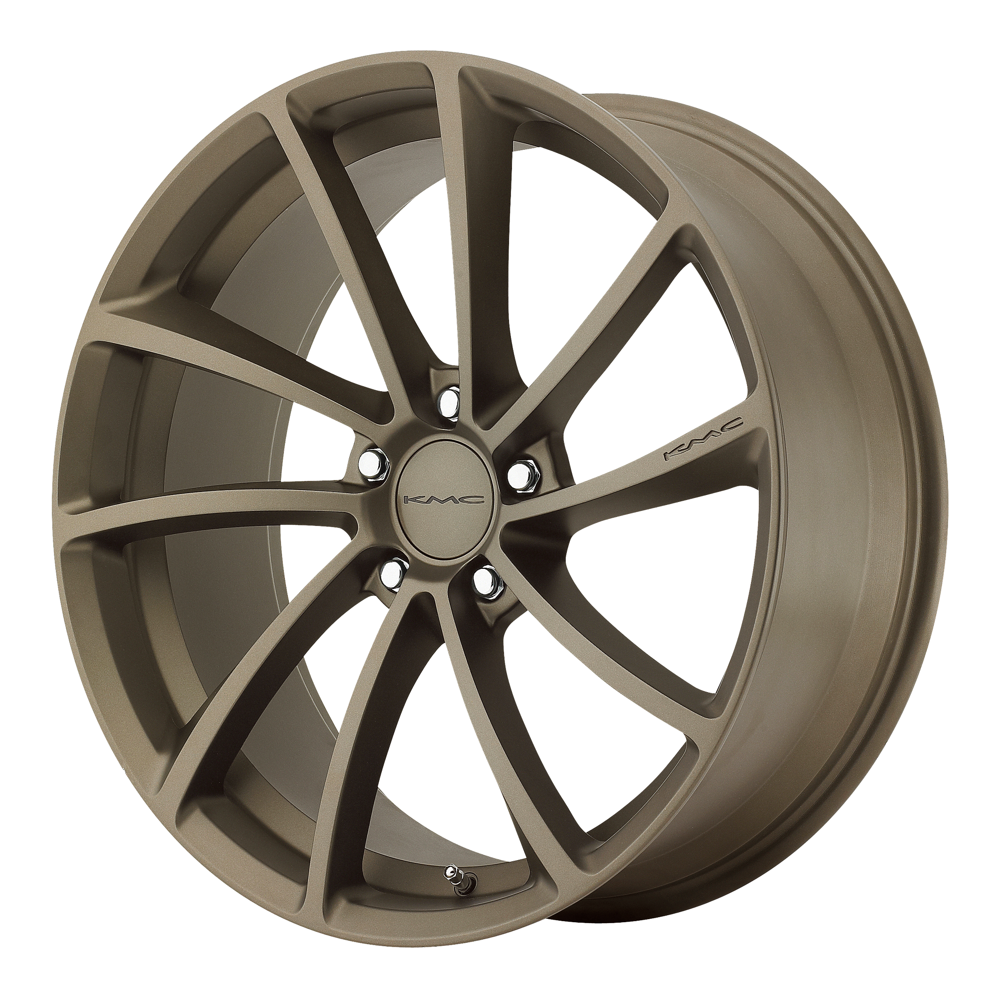 KMC Wheels SPIN Matte Bronze