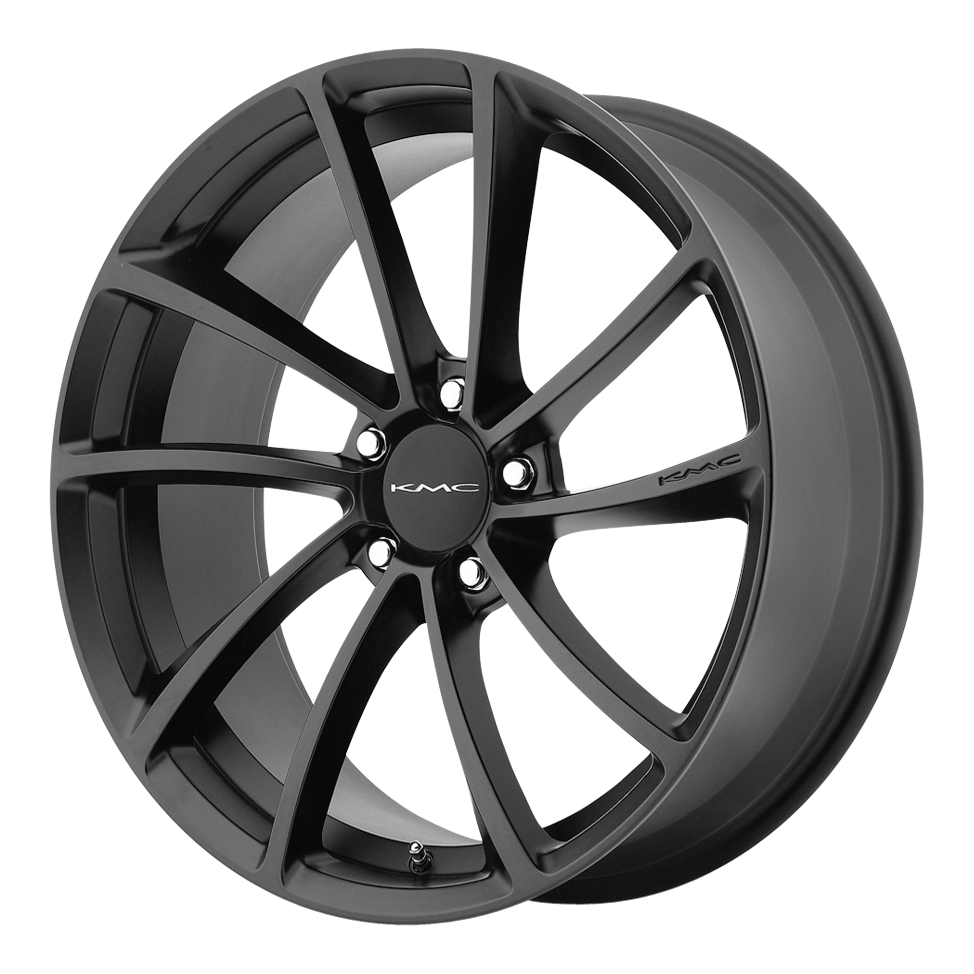 KMC Wheels SPIN Satin Black