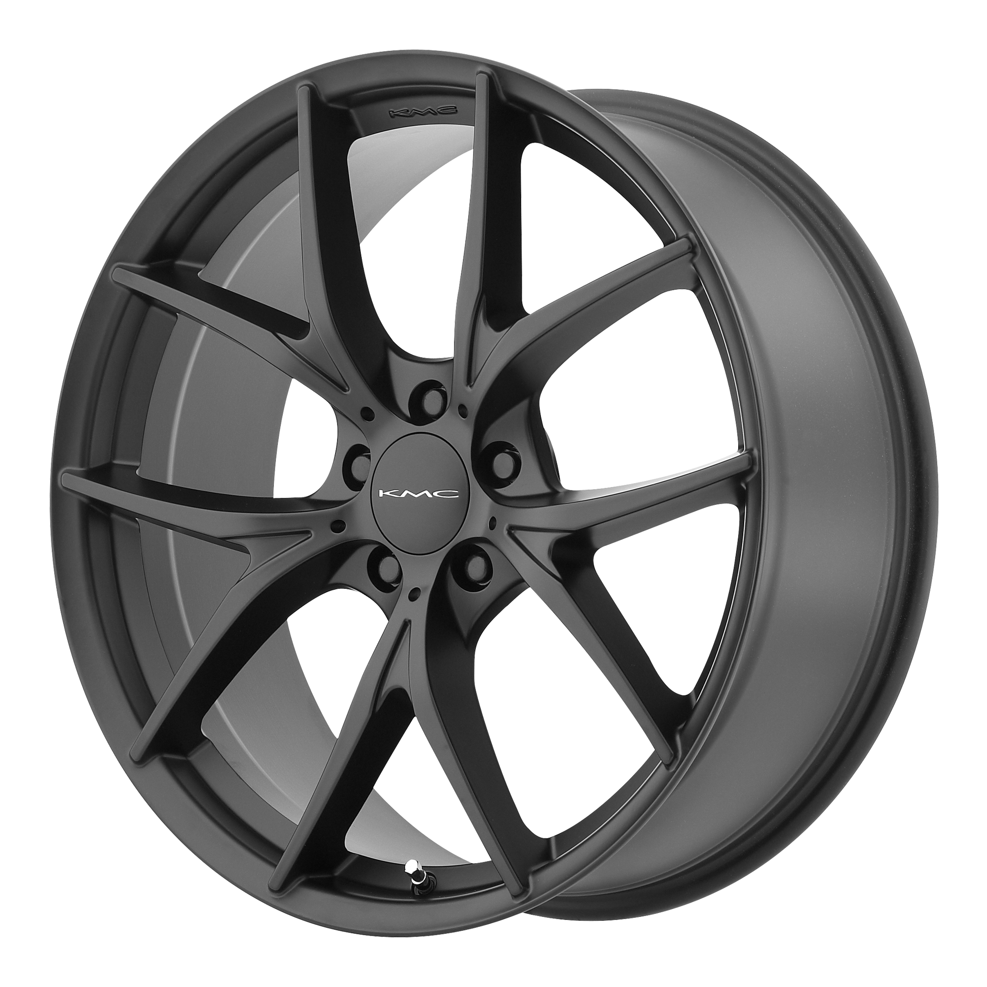 KMC Wheels WISHBONE Satin Black
