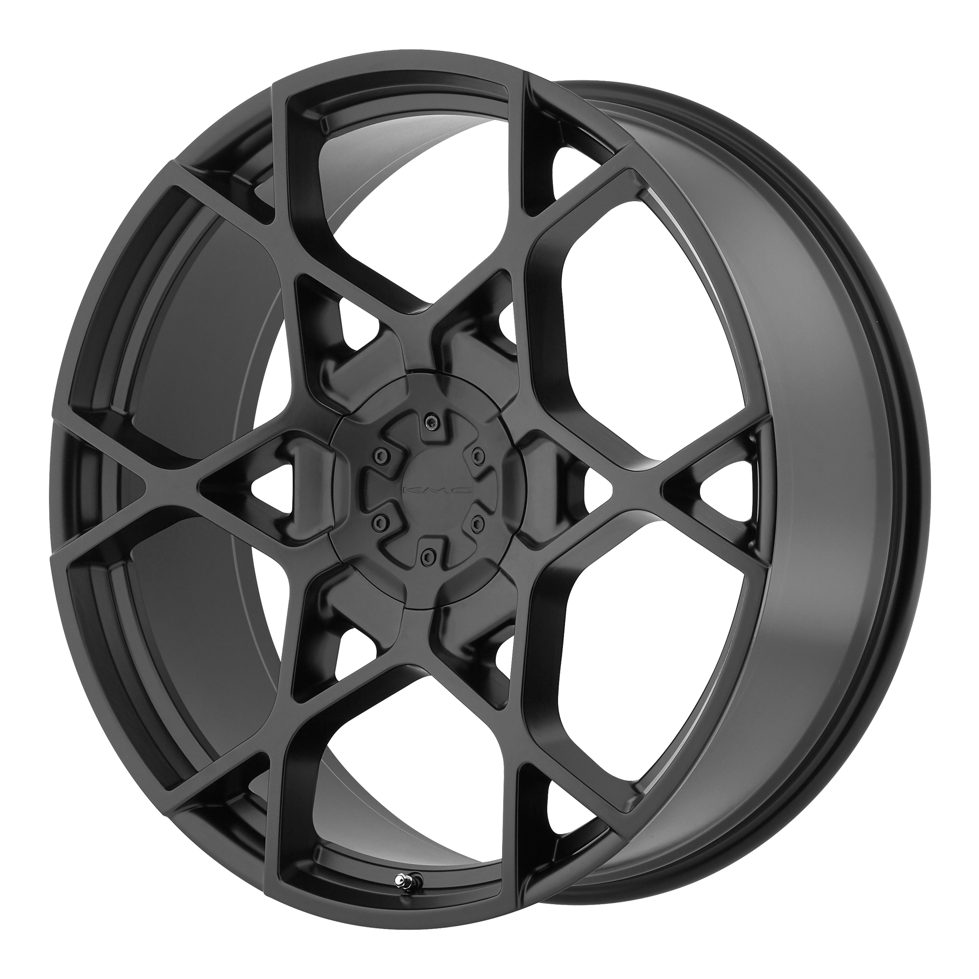 KMC Wheels CROSSHAIR Satin Black