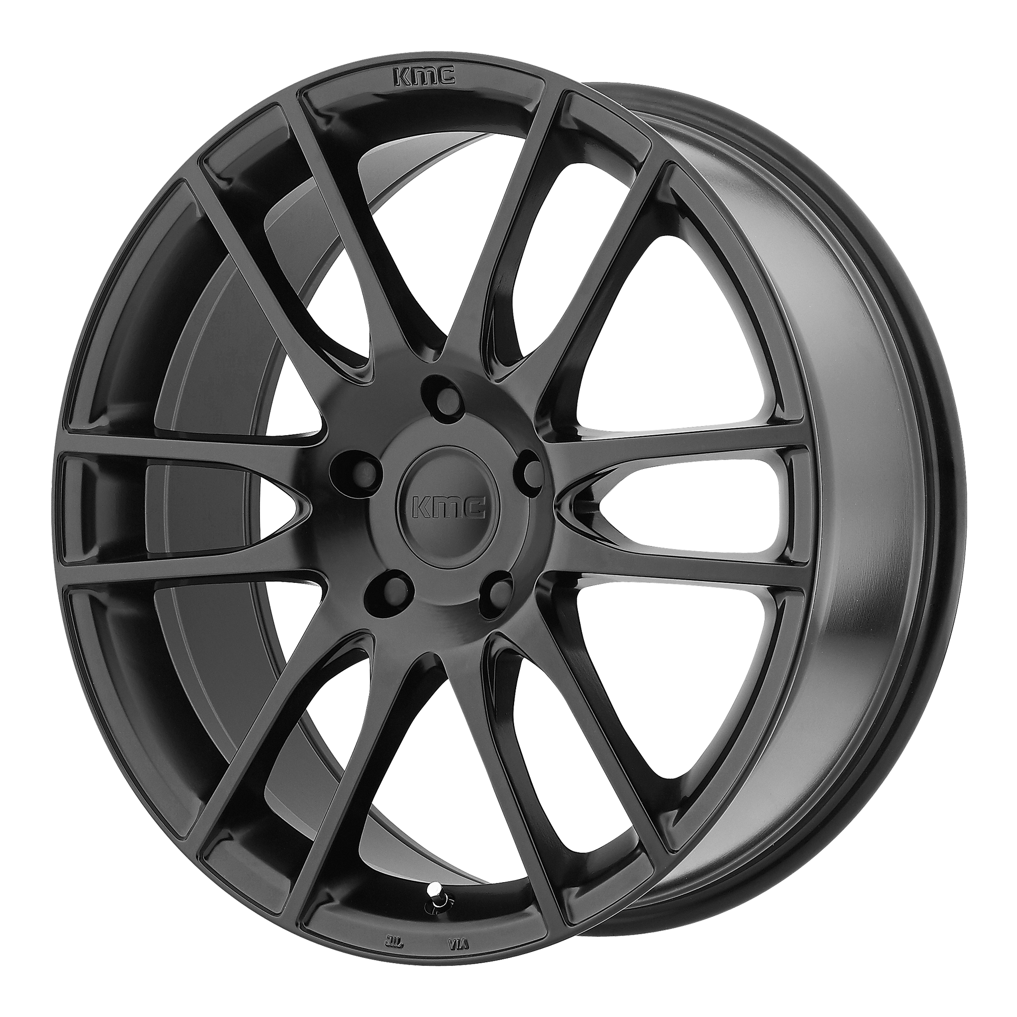 KMC Wheels PIVOT Satin Black