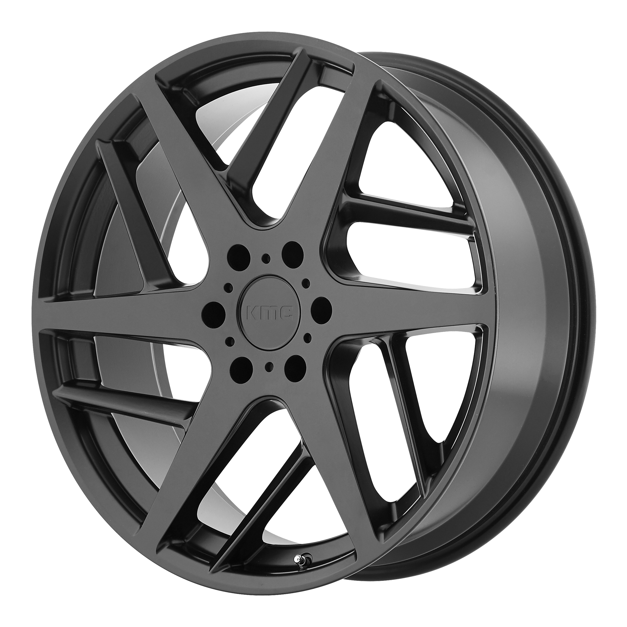 KMC Wheels TWO Face Satin Black