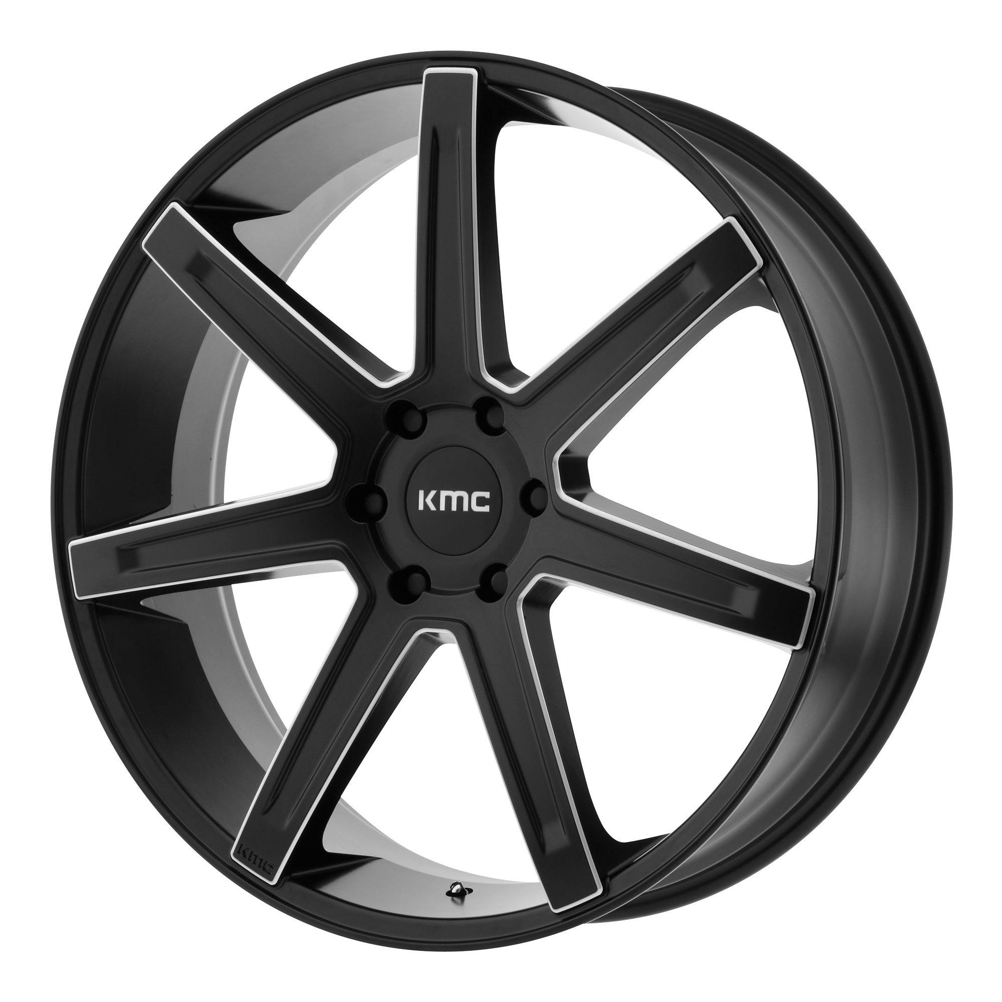 KMC Wheels REVERT Satin Black Milled