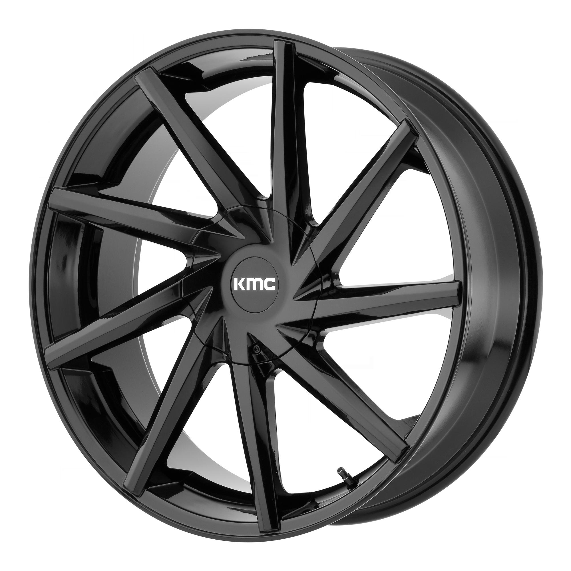 KMC Wheels BURST Gloss Black