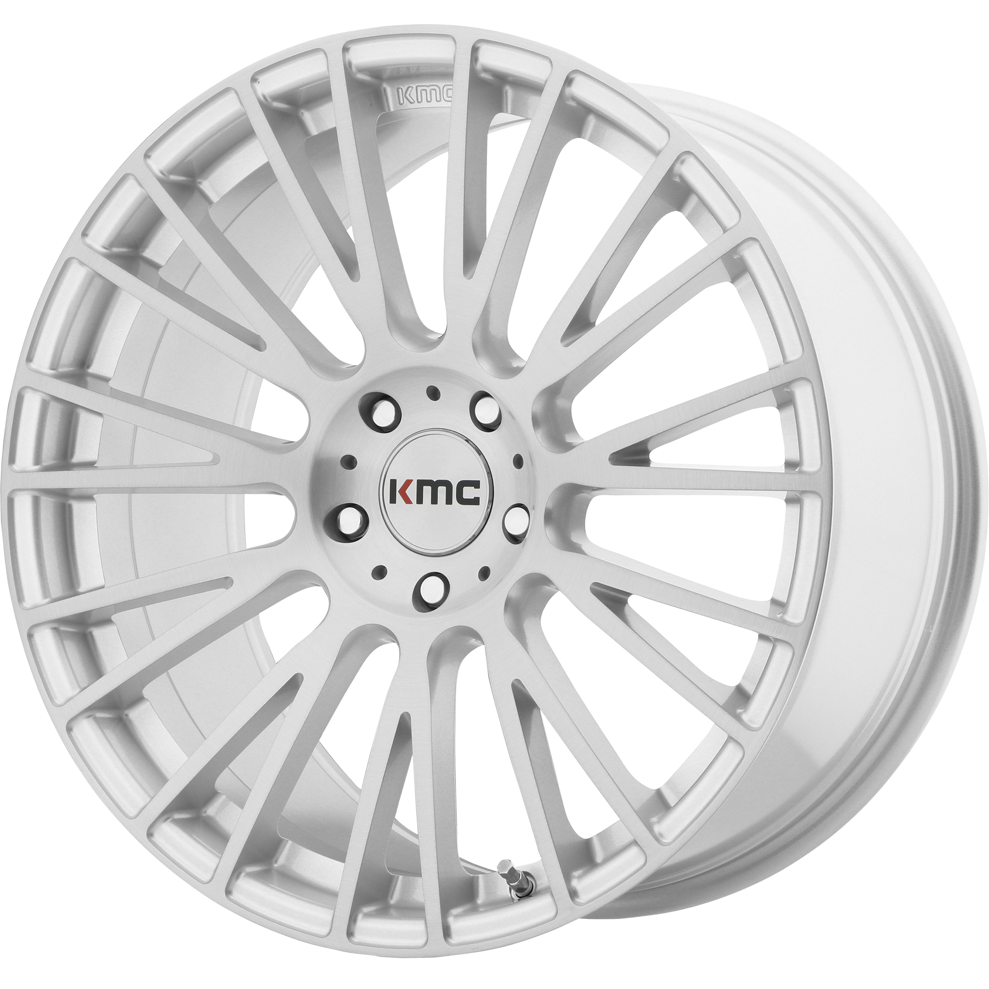KMC Wheels IMPACT Brushed Silver
