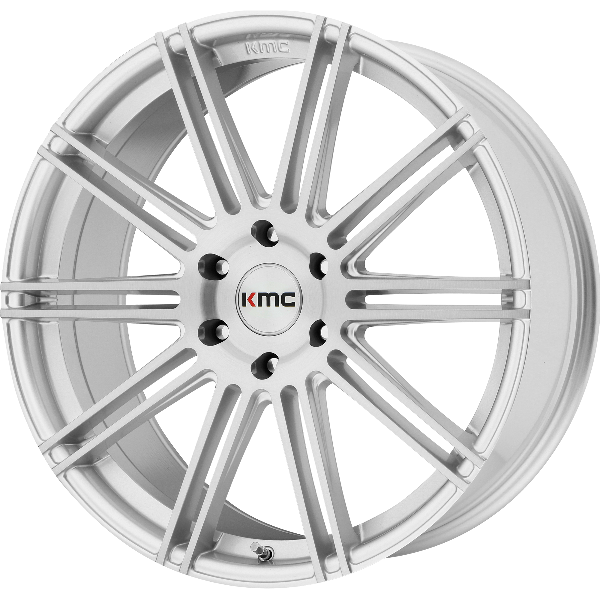 KMC Wheels CHANNEL Brushed Silver