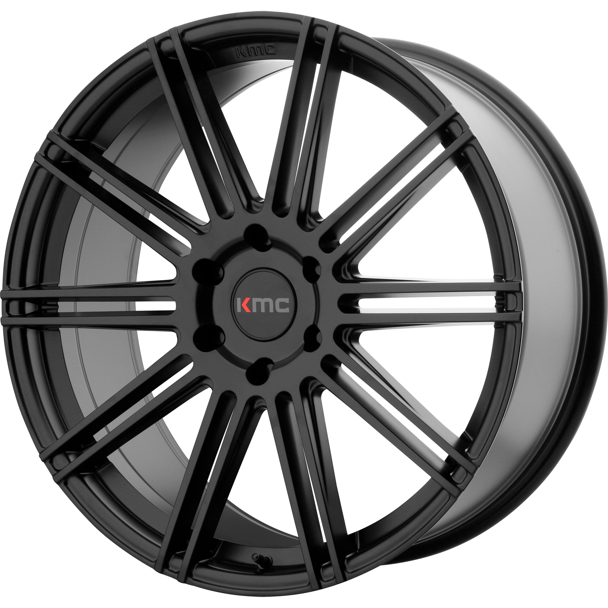 KMC Wheels CHANNEL Satin Black