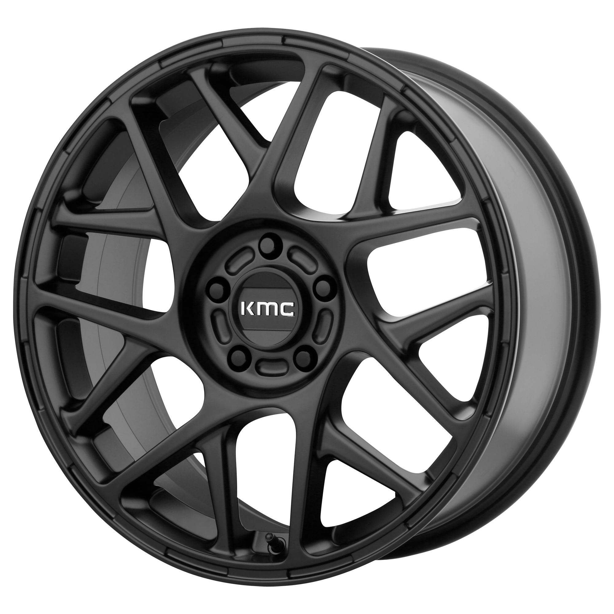 KMC Wheels BULLY Satin Black