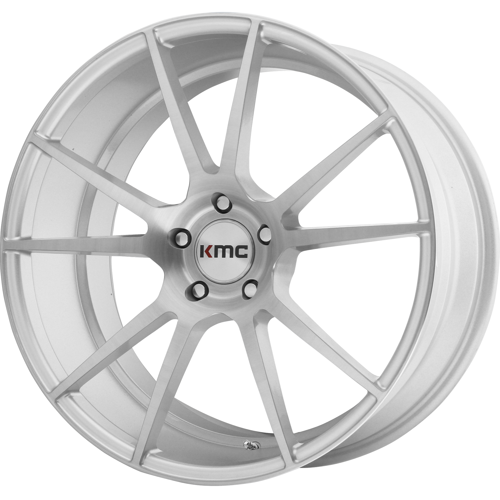 KMC Wheels FLUX Brushed Silver