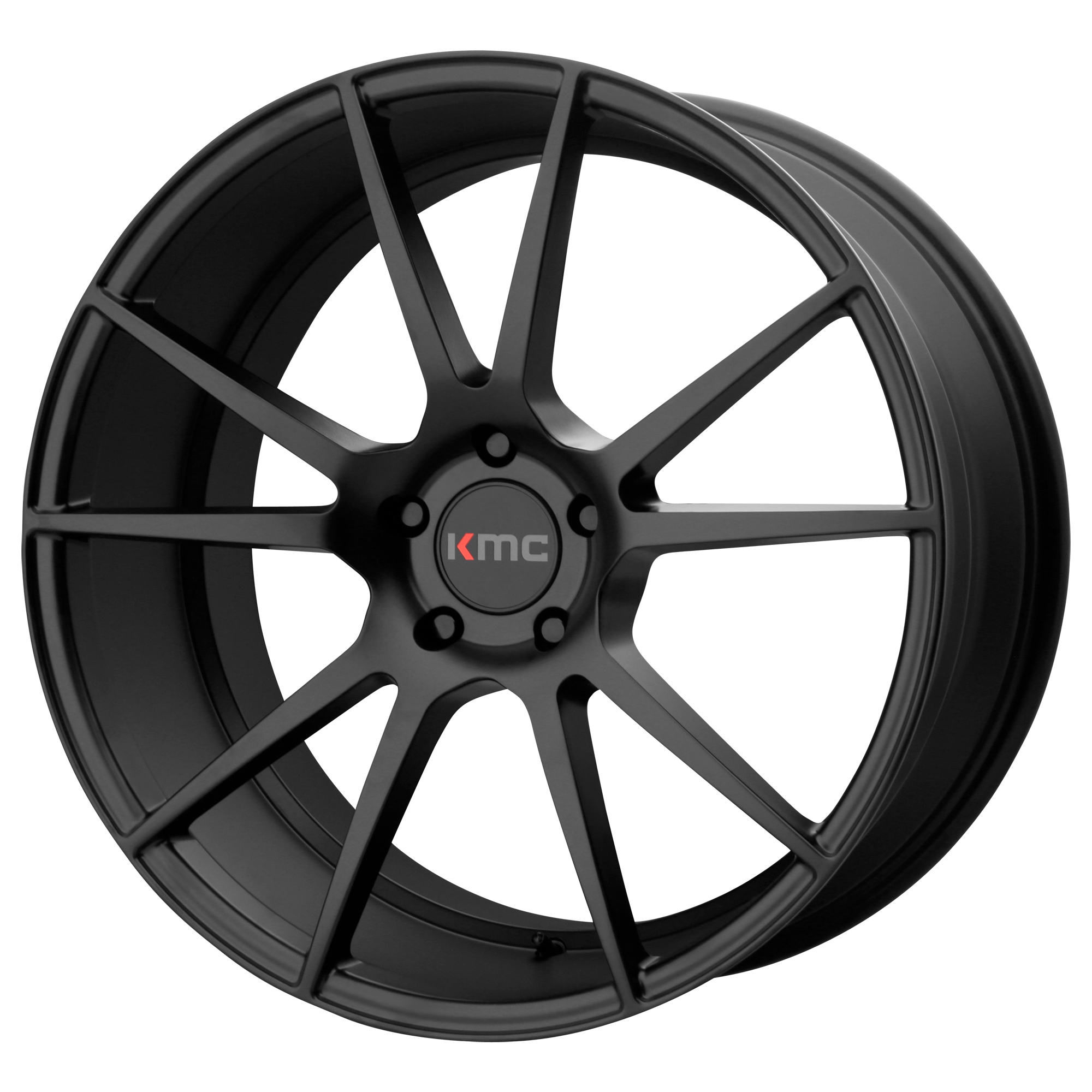 KMC Wheels FLUX Satin Black