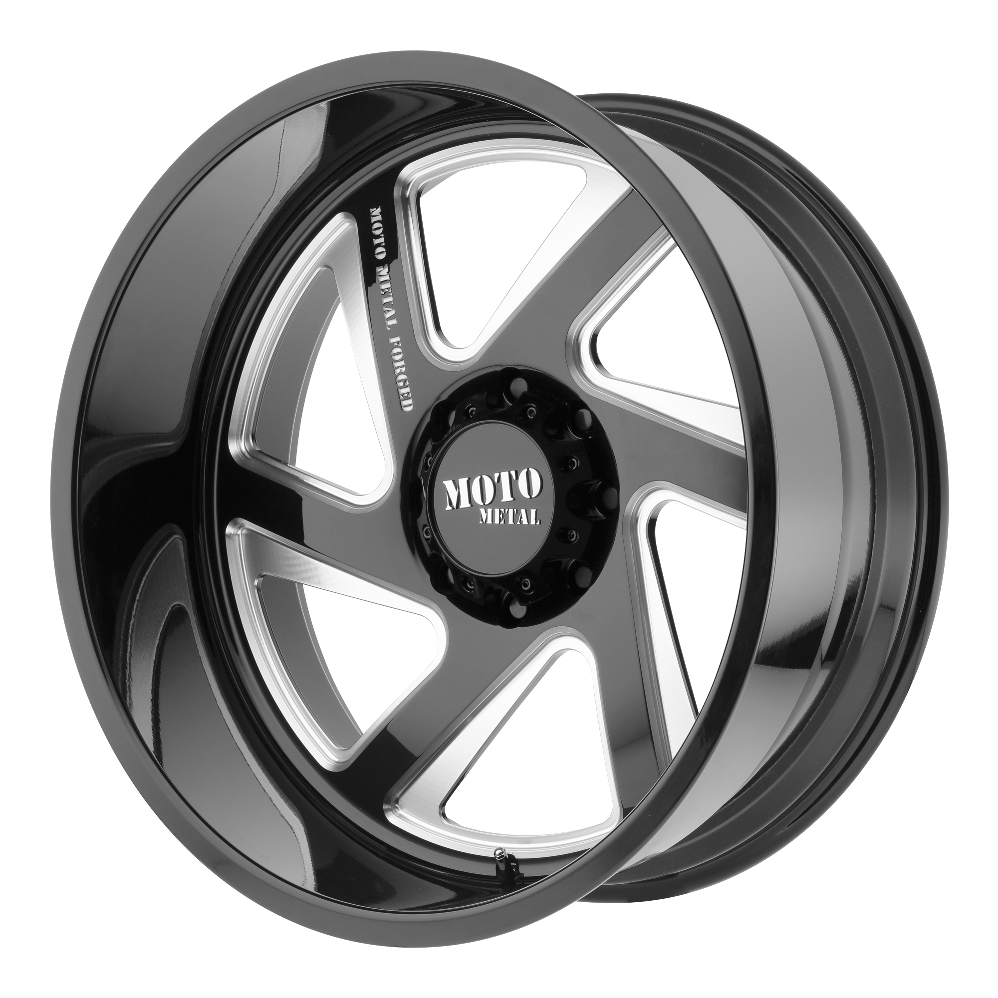 Moto Metal Offroad Wheels MO400 Gloss Black Milled