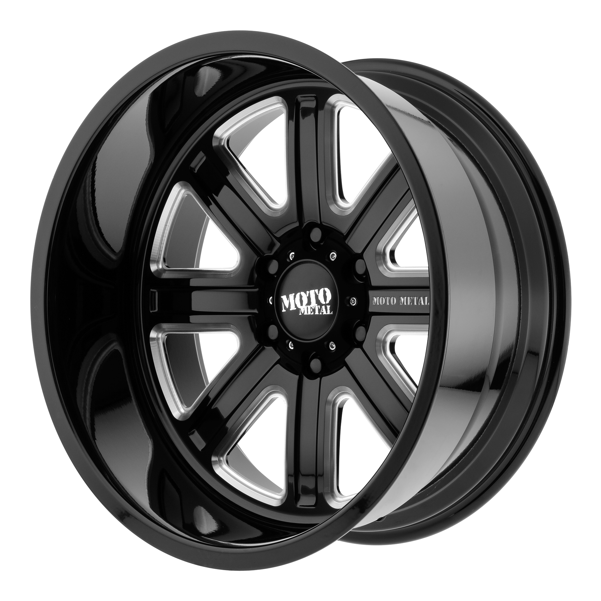 Moto Metal Offroad Wheels MO402 Gloss Black Milled