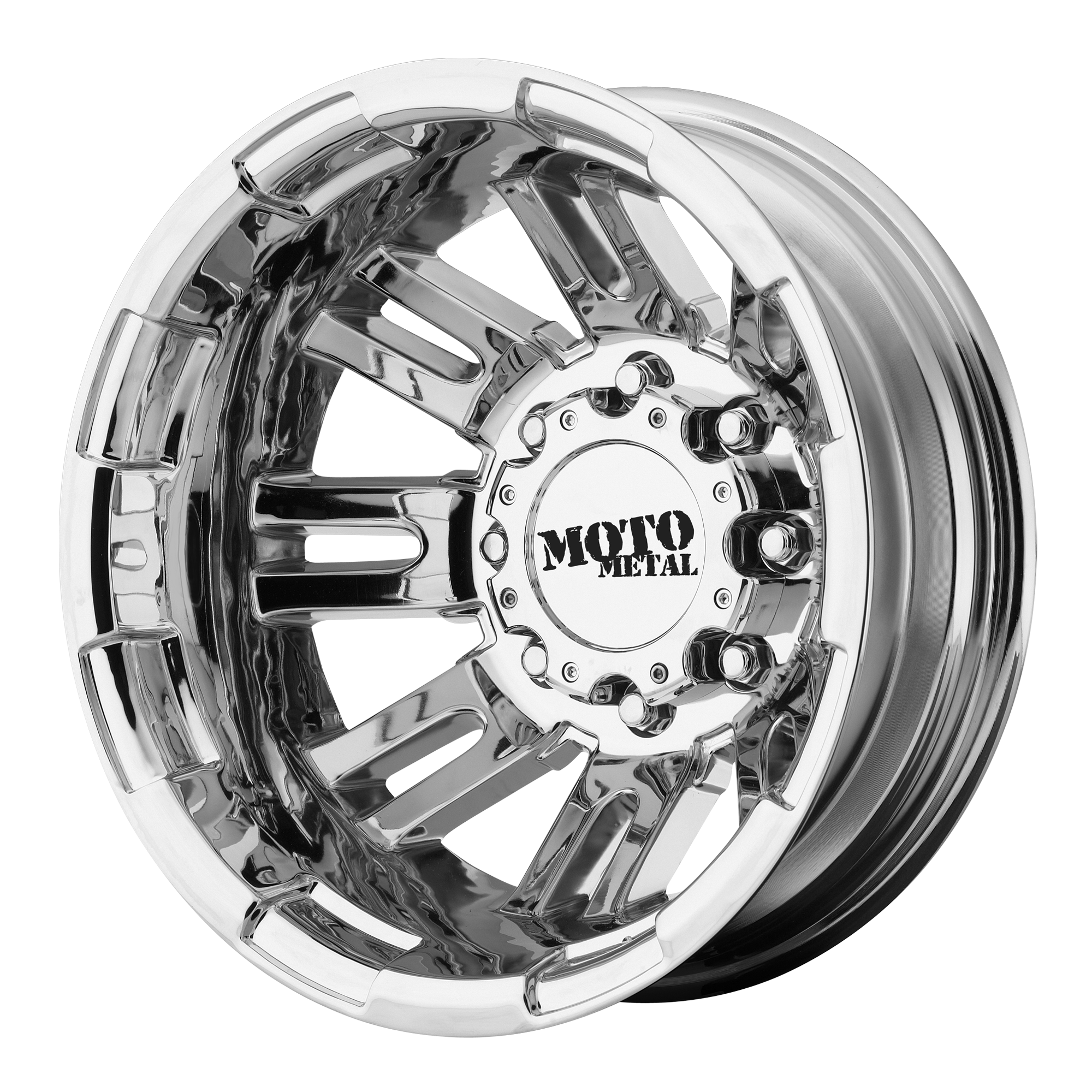 Moto Metal Offroad Wheels MO963 DUALLY PVD DUALLY (RR)