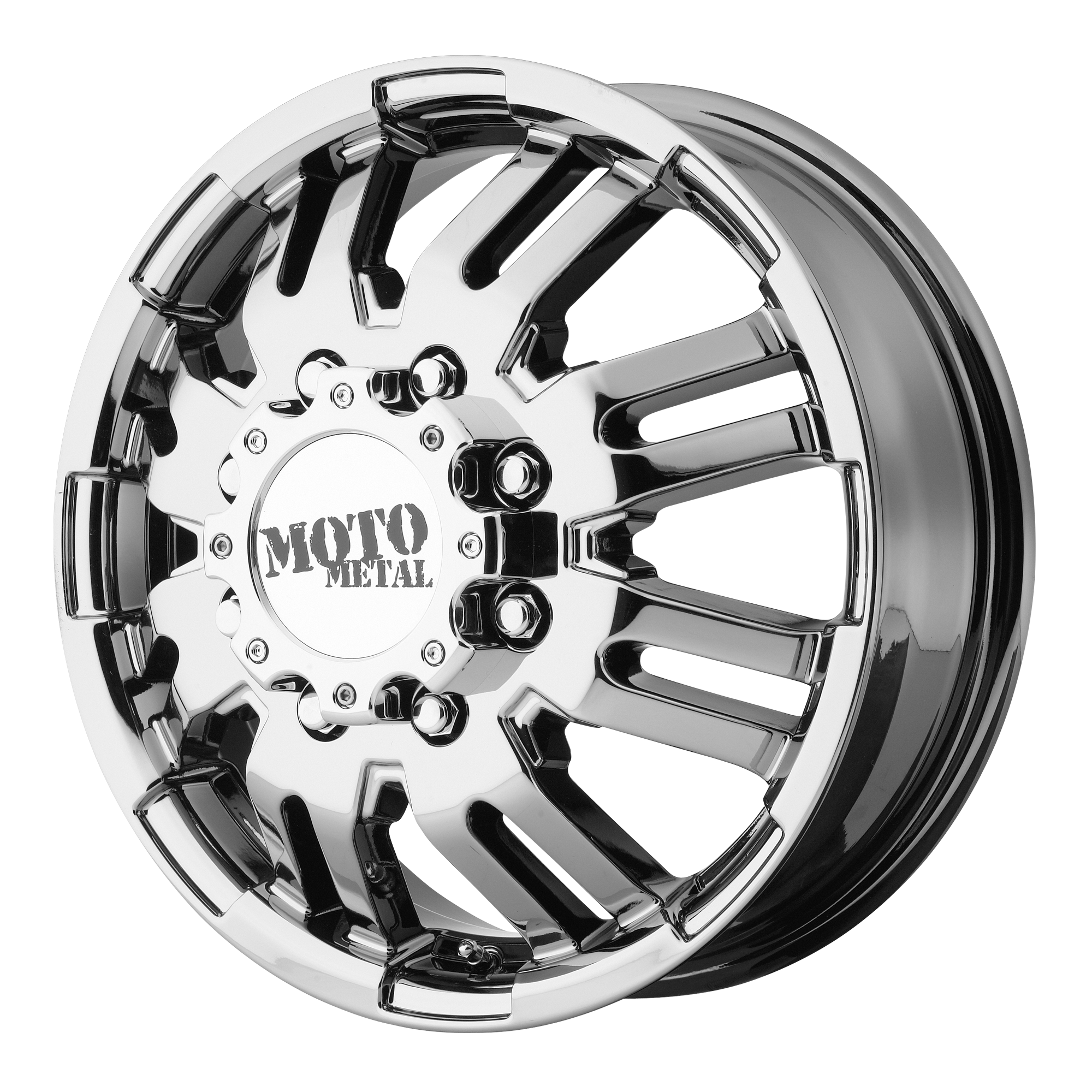 Moto Metal Offroad Wheels MO963 DUALLY PVD DUALLY (FR)
