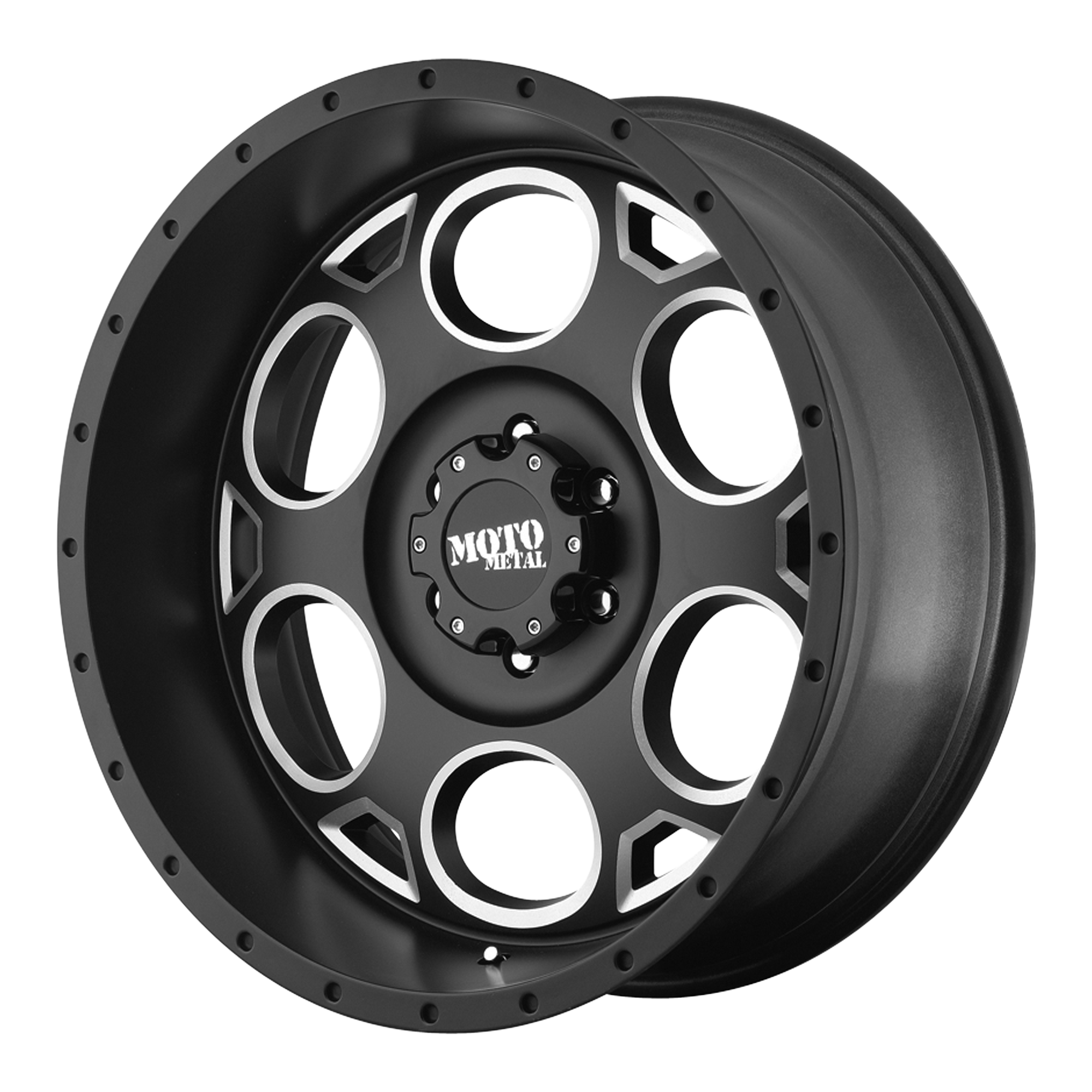 Moto Metal Offroad Wheels MO964 Satin Black Milled