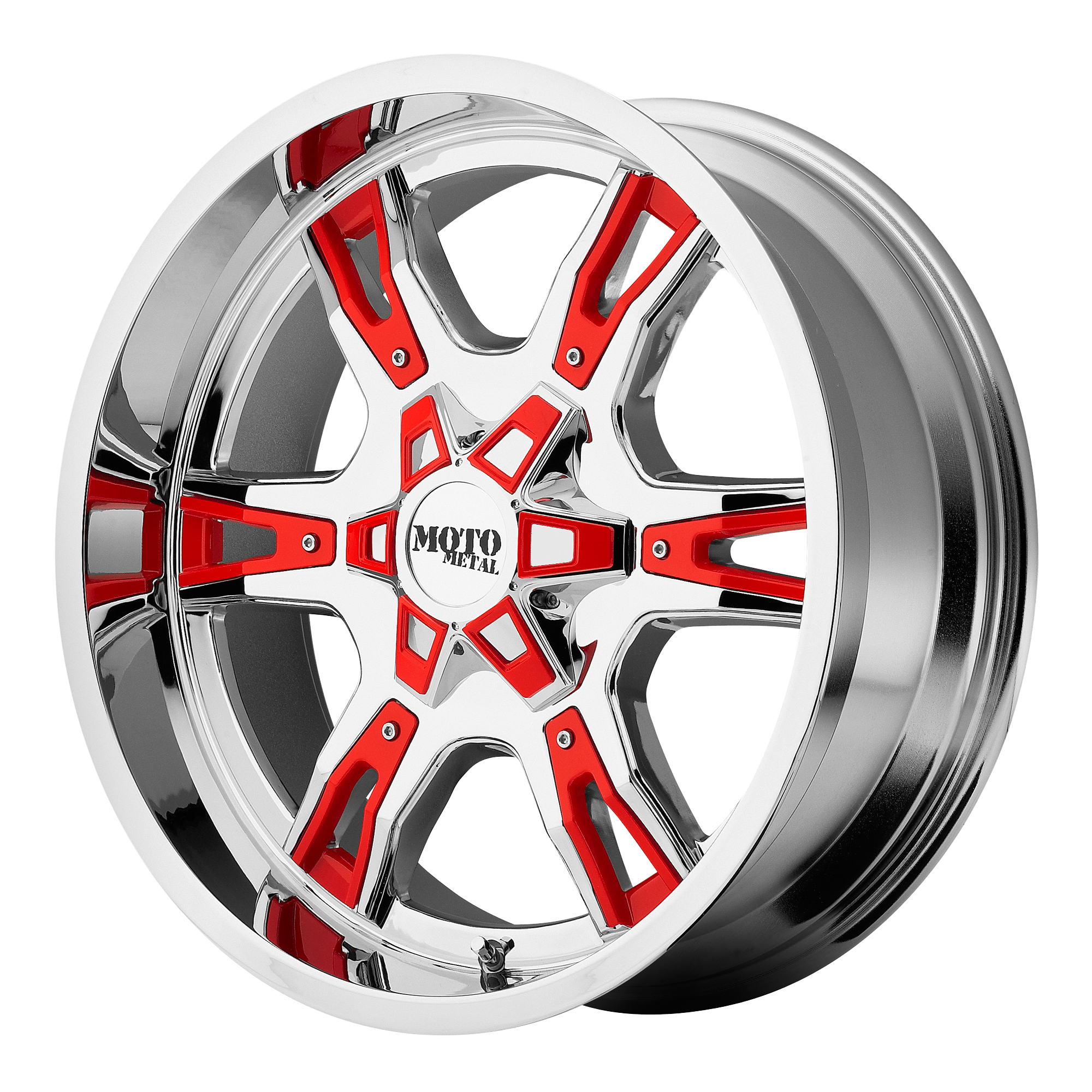 Moto Metal Offroad Wheels MO969 Chrome w/ Accents