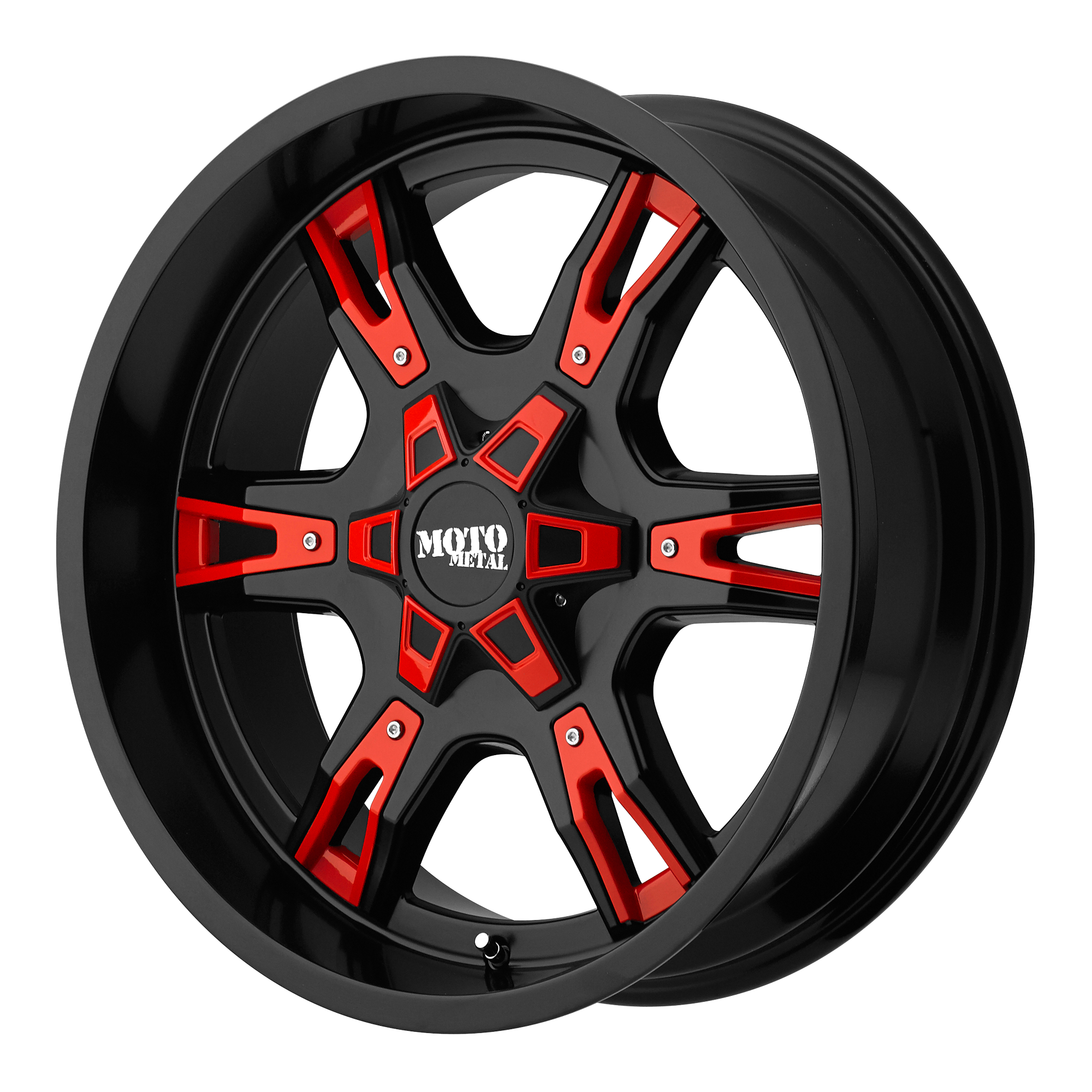 Moto Metal Offroad Wheels MO969 Satin Black w/ Accents