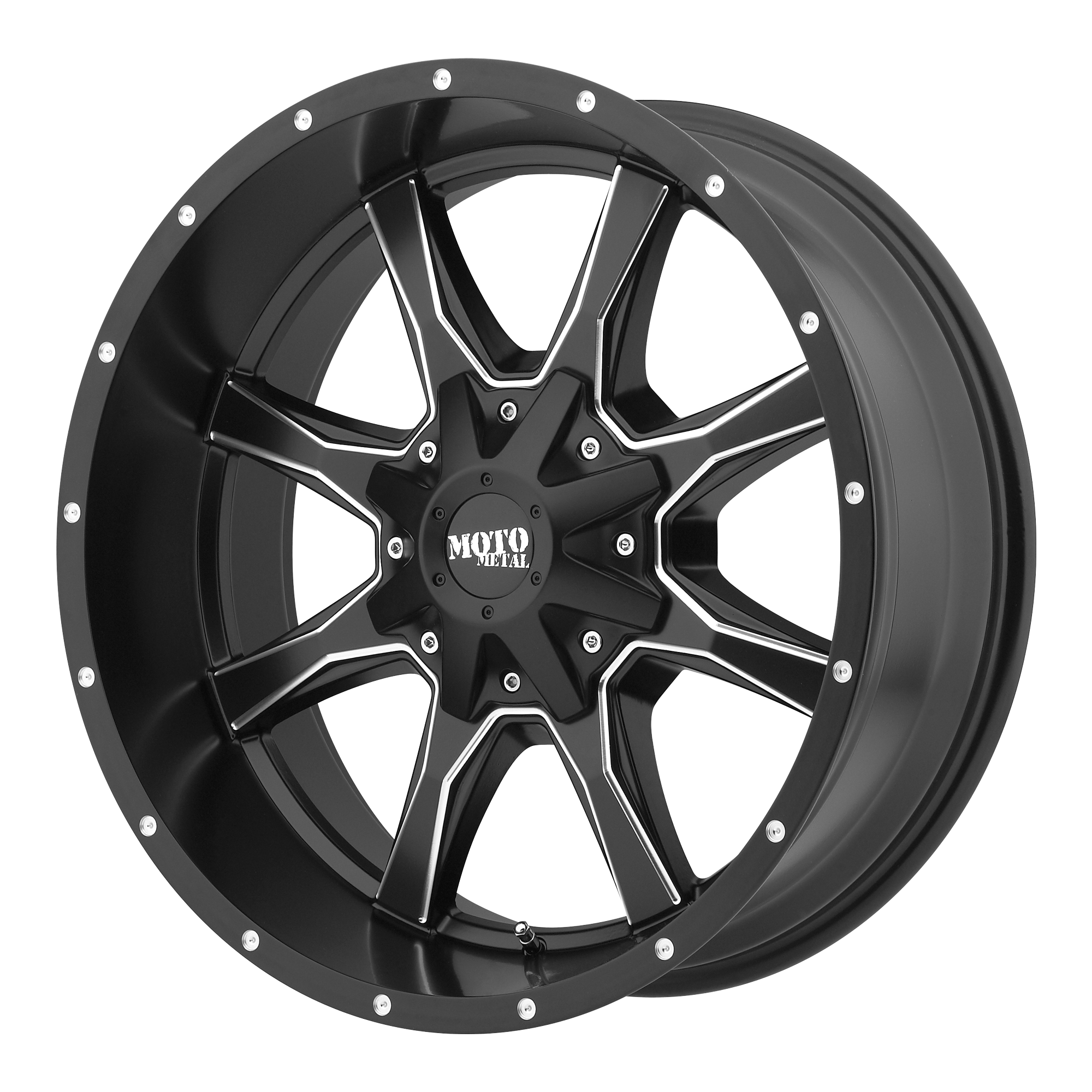 Moto Metal Offroad Wheels MO970 Satin Black Milled