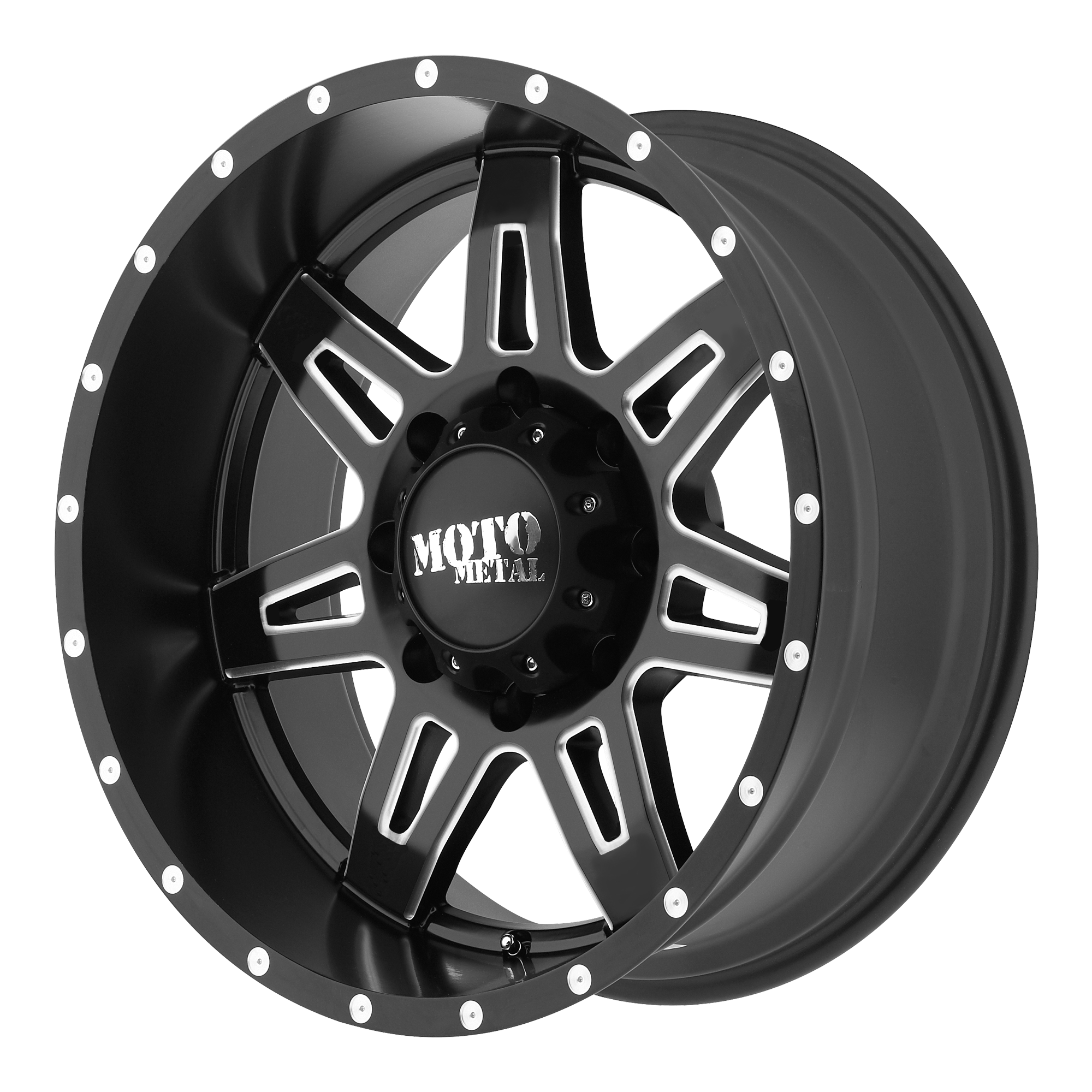 Moto Metal Offroad Wheels MO975 Satin Black Milled