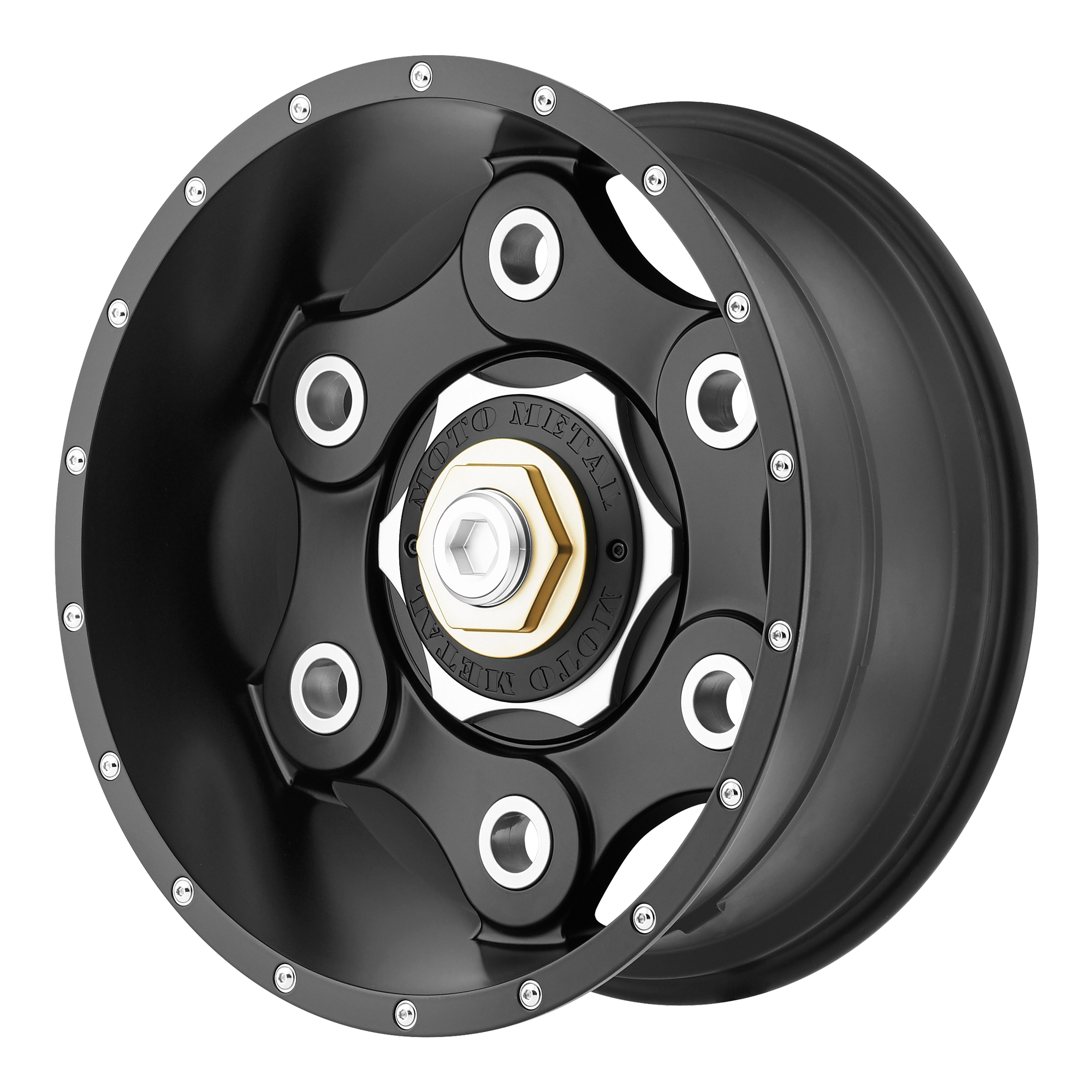 Moto Metal Offroad Wheels LINK Satin Black
