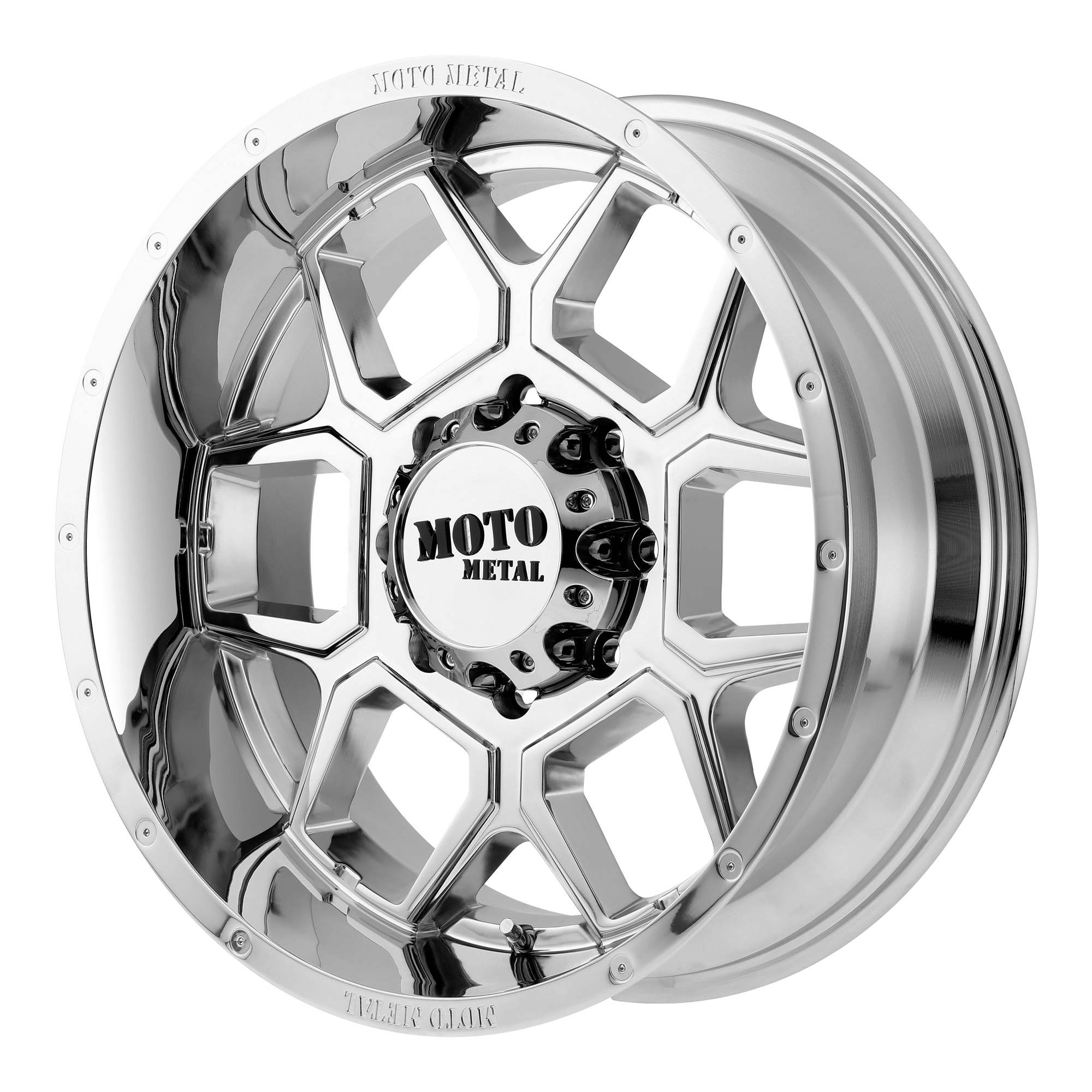 Moto Metal Offroad Wheels SPADE Chrome