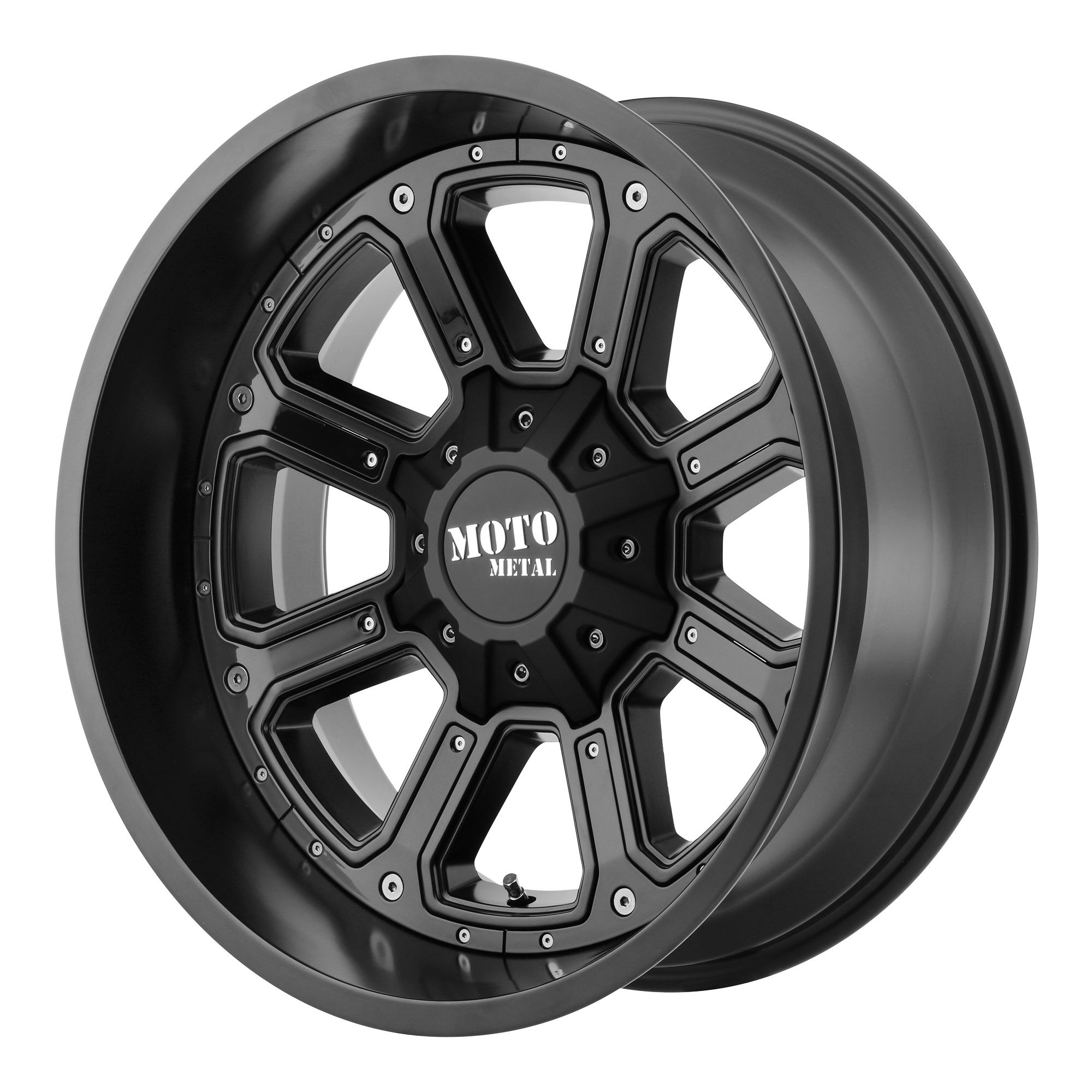 Moto Metal Offroad Wheels SHIFT Matte Black w/ G-BLK INSERTS