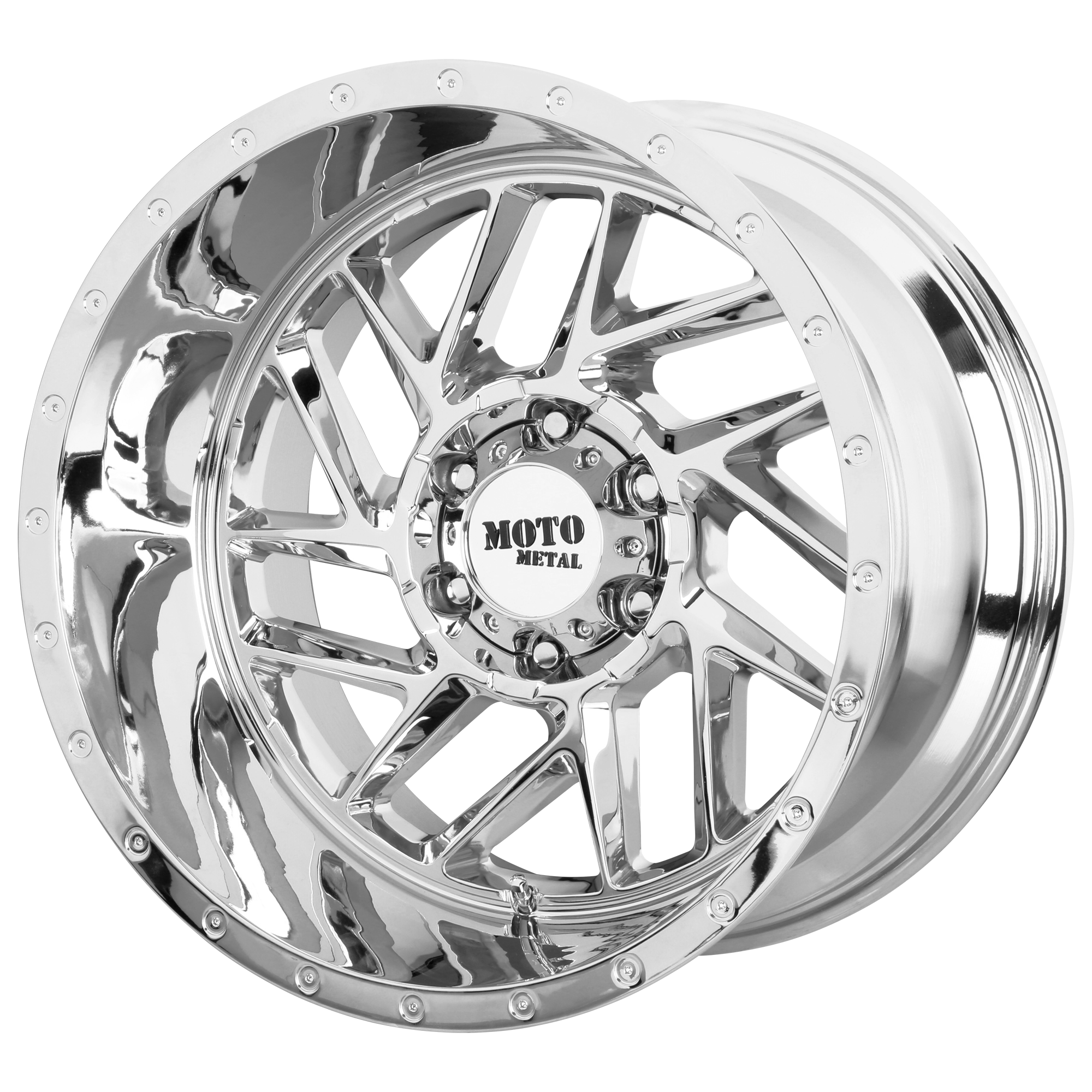 Moto Metal Offroad Wheels BREAKOUT Chrome