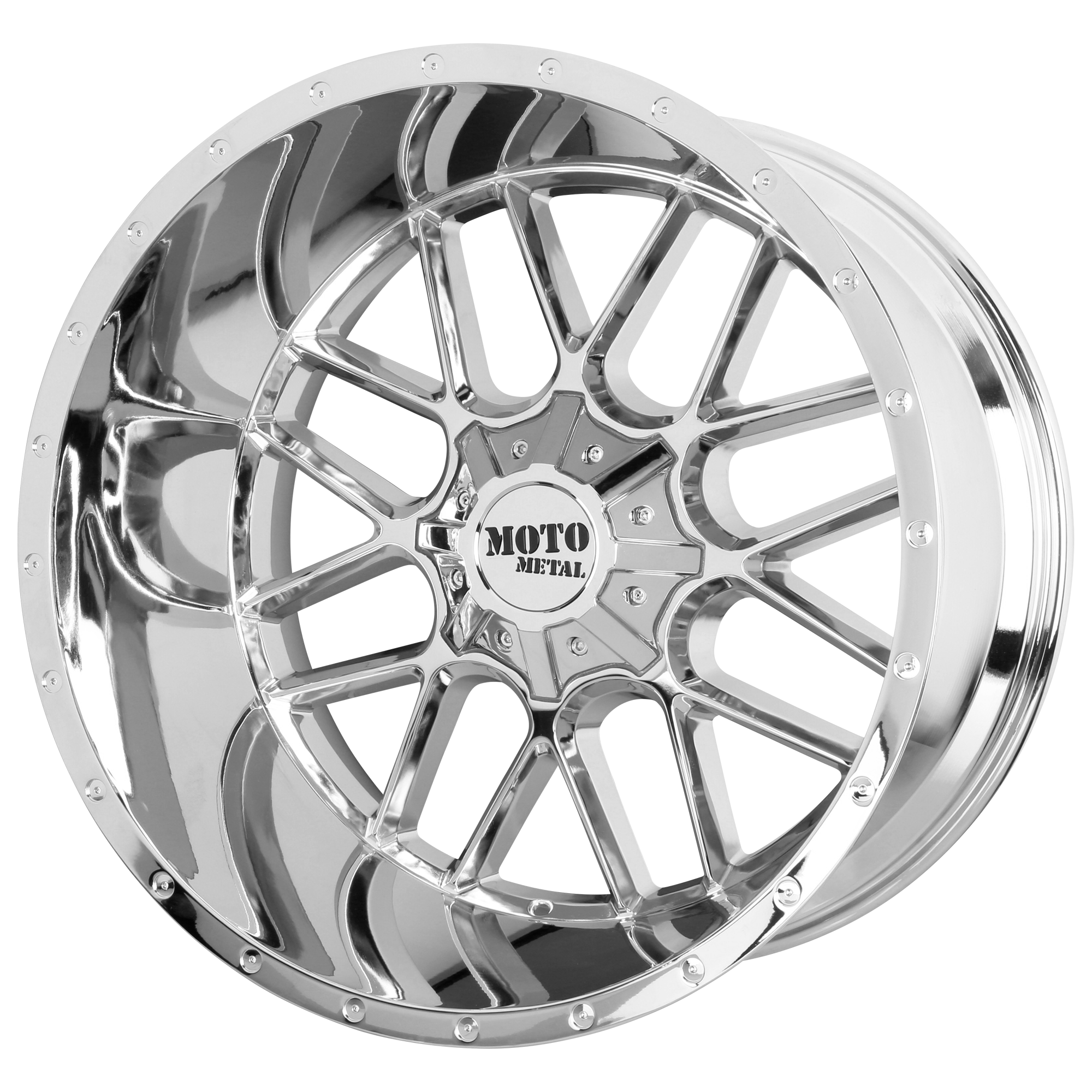 Moto Metal Offroad Wheels SIEGE Chrome