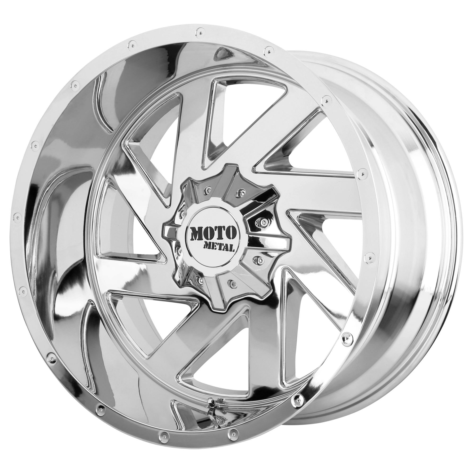 Moto Metal Offroad Wheels MELEE Chrome