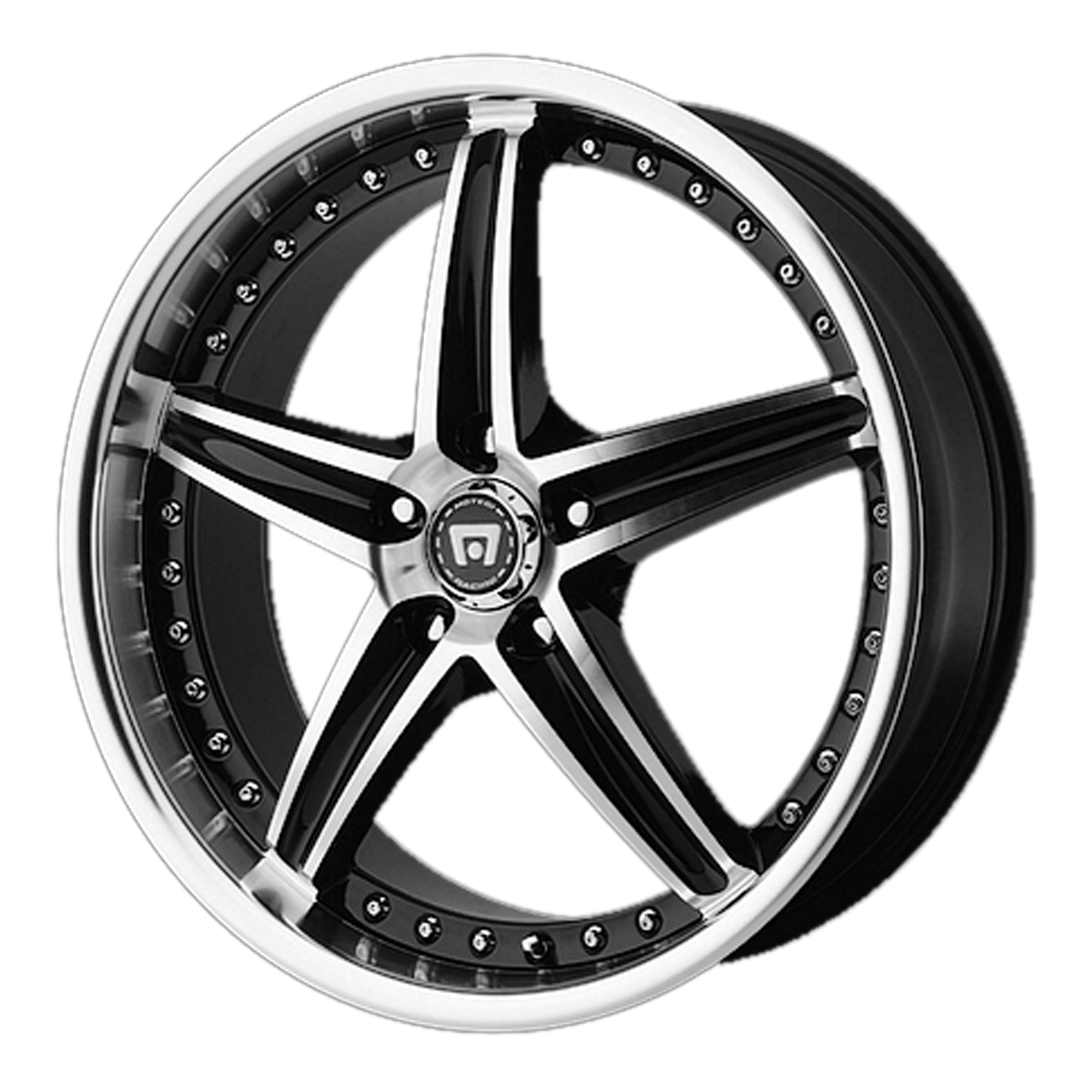 Motegi Racing Wheels MR107 Gloss Black Machined