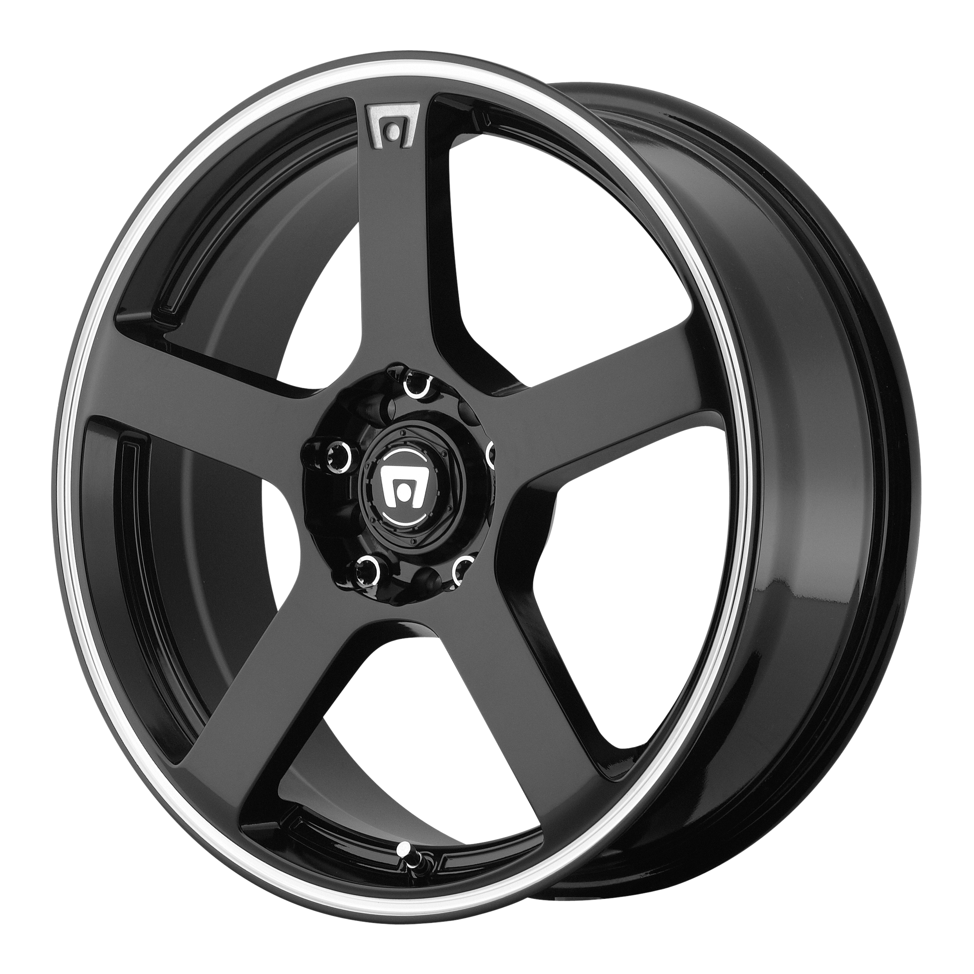Motegi Racing Wheels MR116 Gloss Black w/ Machined Flange