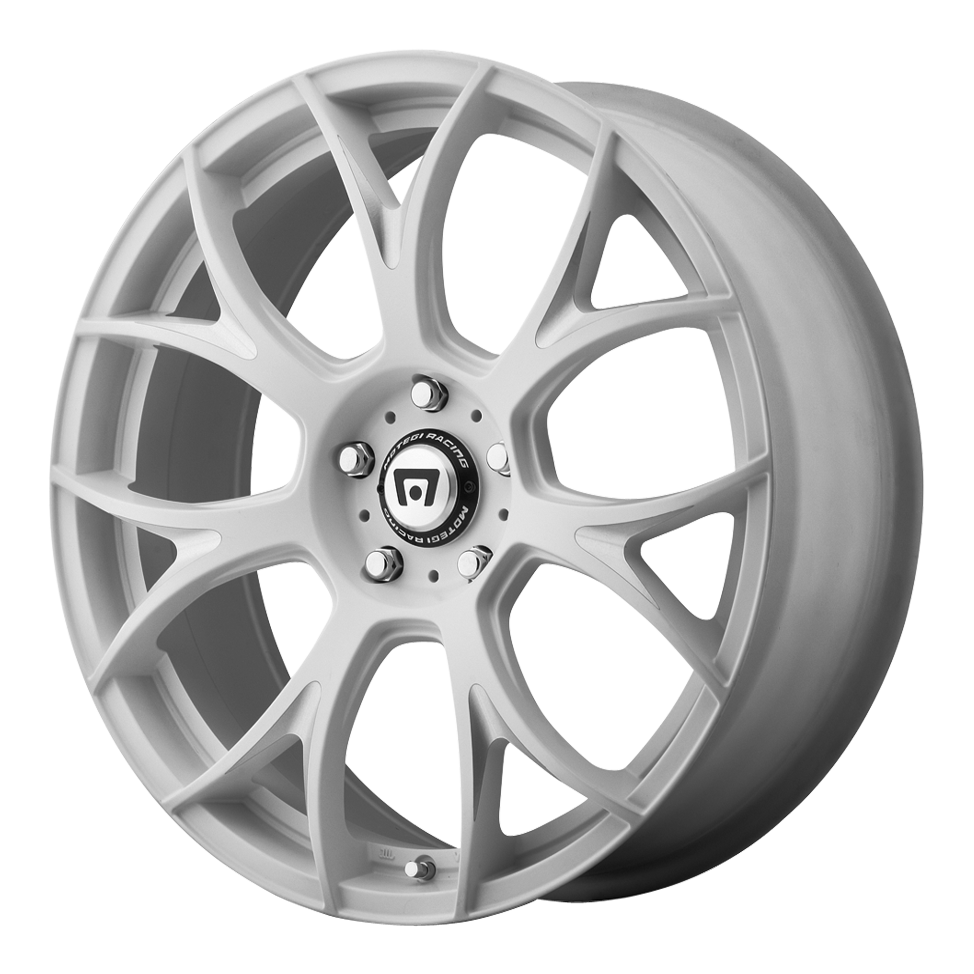 Motegi Racing Wheels MR126 Matte White w/ Milled Accents