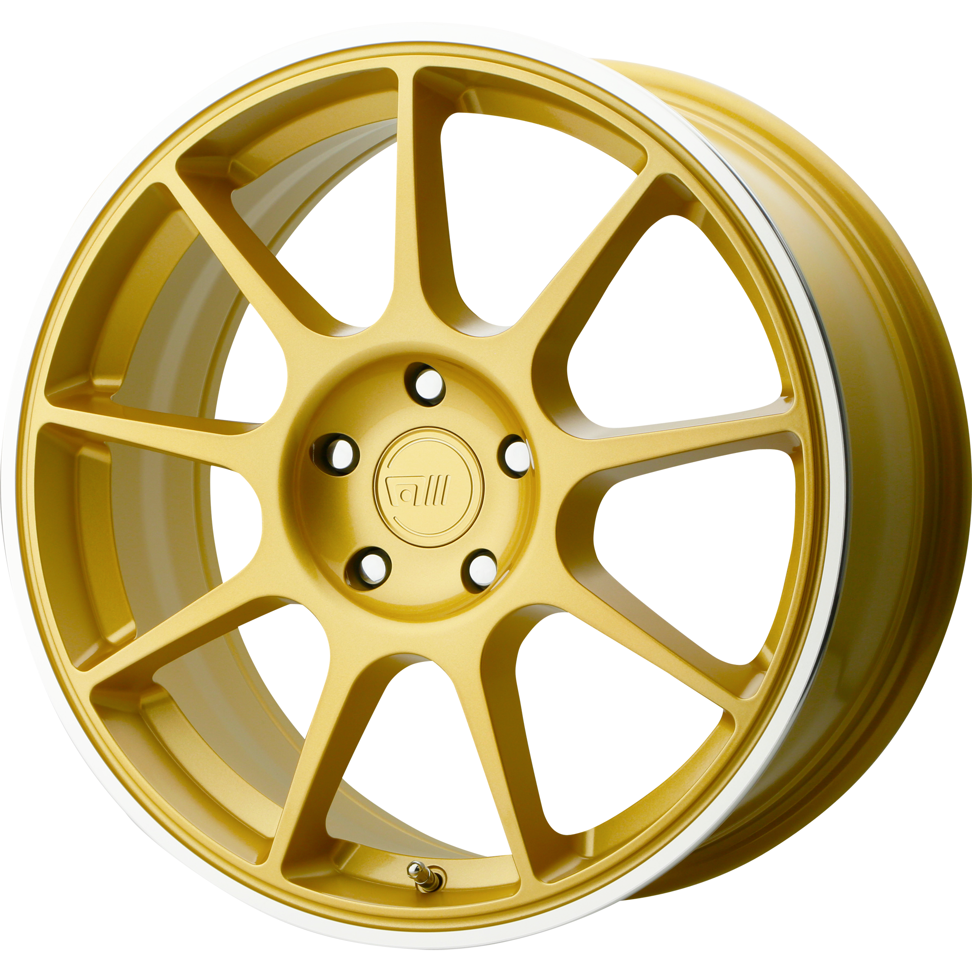 Motegi Racing Wheels MR138 Gold w/ Machined Lip