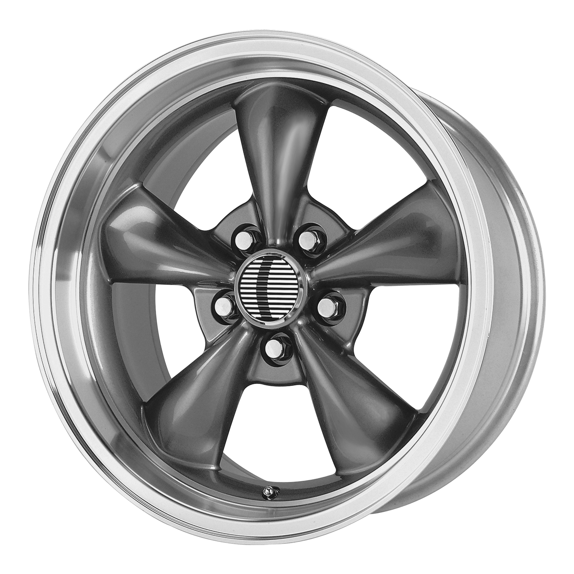 OE Creations Replica Wheels OE Creations 106A Antharacite/Machined Lip