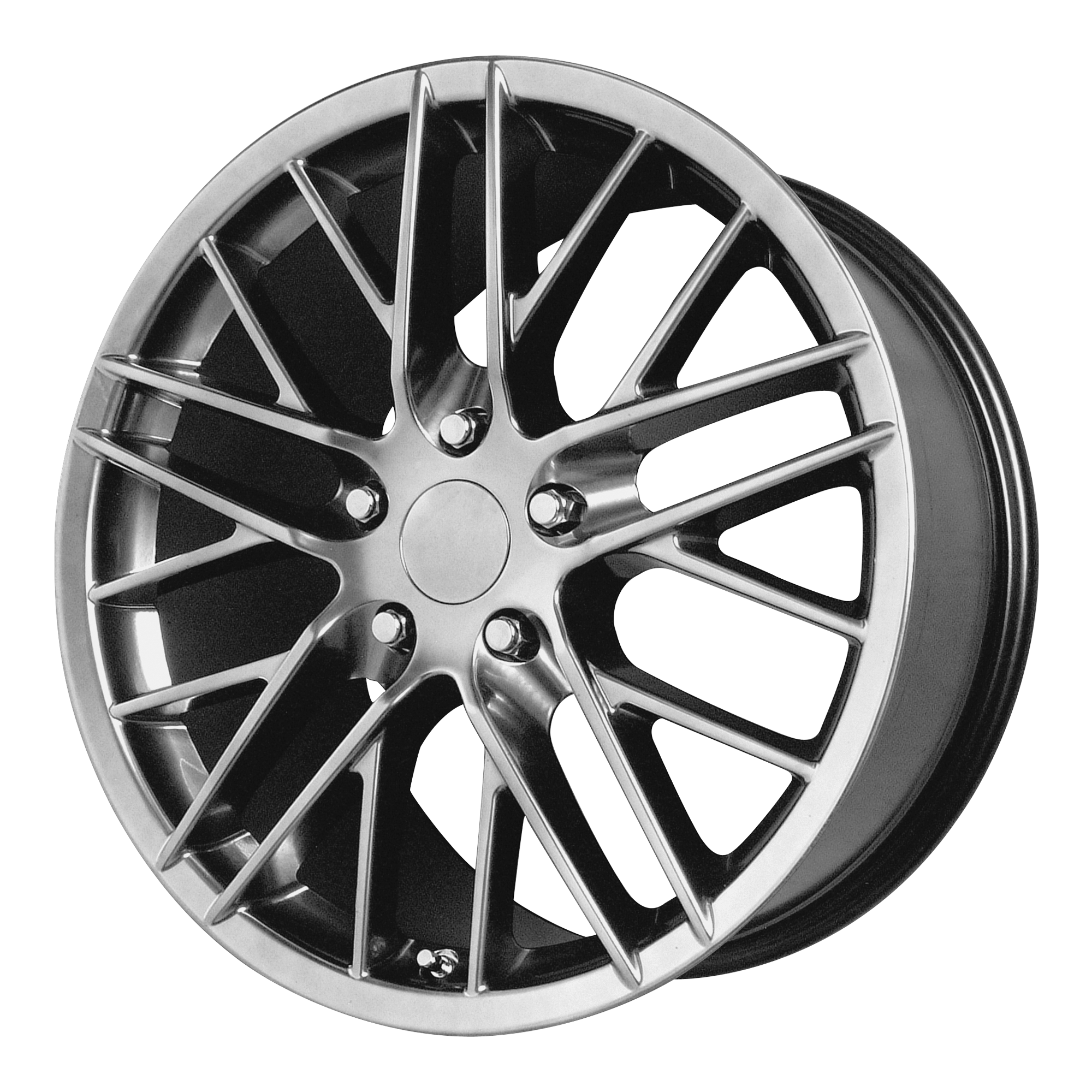 OE Creations Replica Wheels OE Creations 121C Hyper Silver Dark