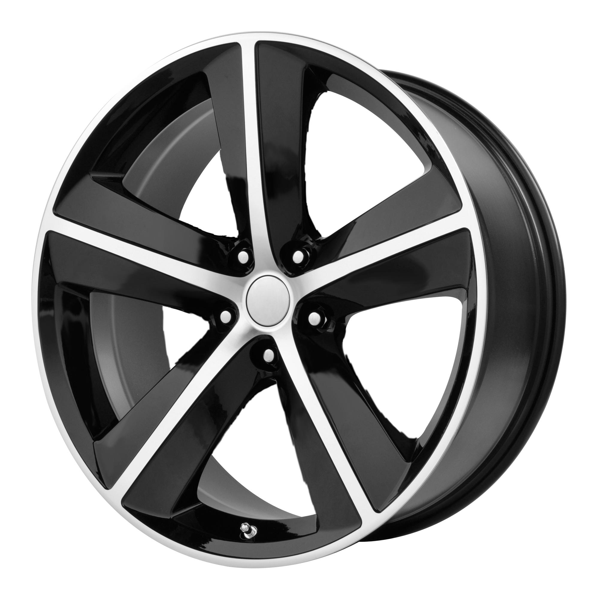 OE Creations Replica Wheels OE Creations 123C Gloss Black w/ Machined Spokes & Lip
