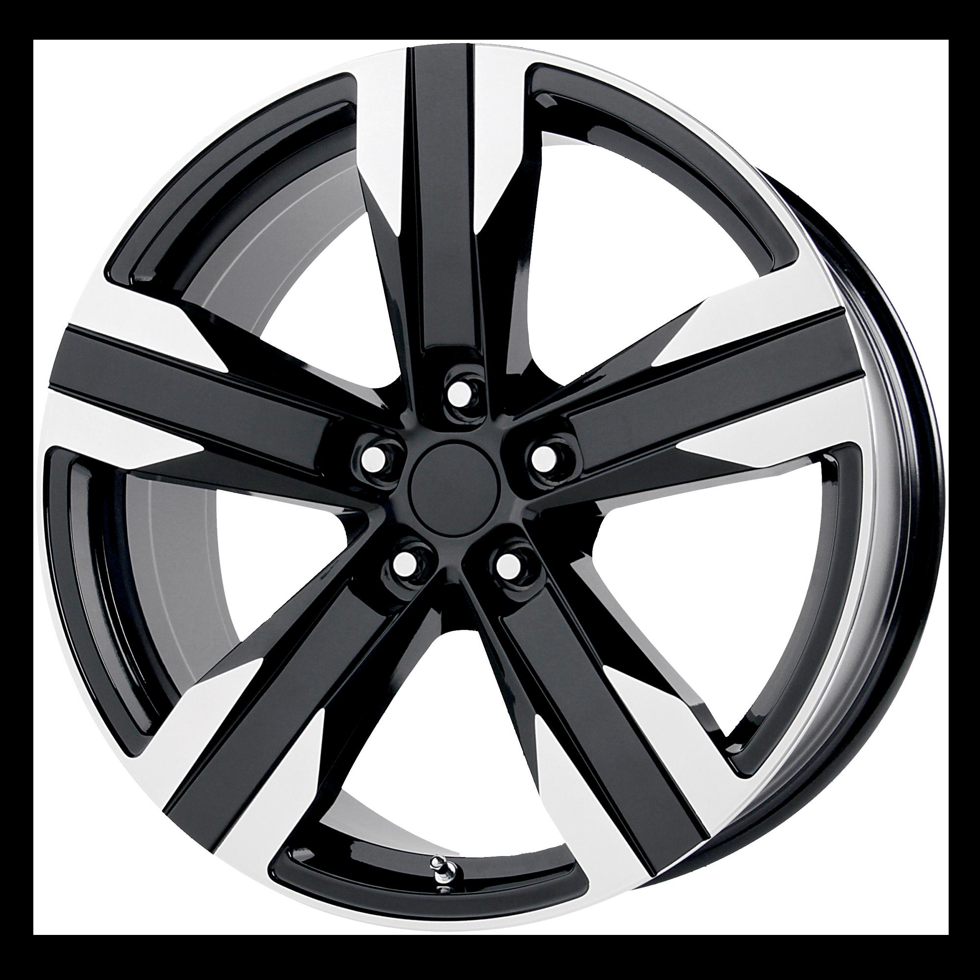 OE Creations Replica Wheels OE Creations PR135 Gloss Black Machined