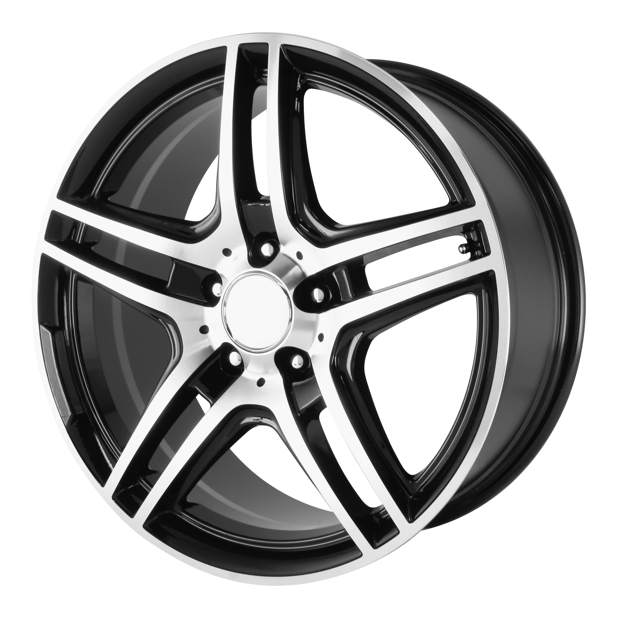 OE Creations Replica Wheels OE Creations PR136 Gloss Black Machined