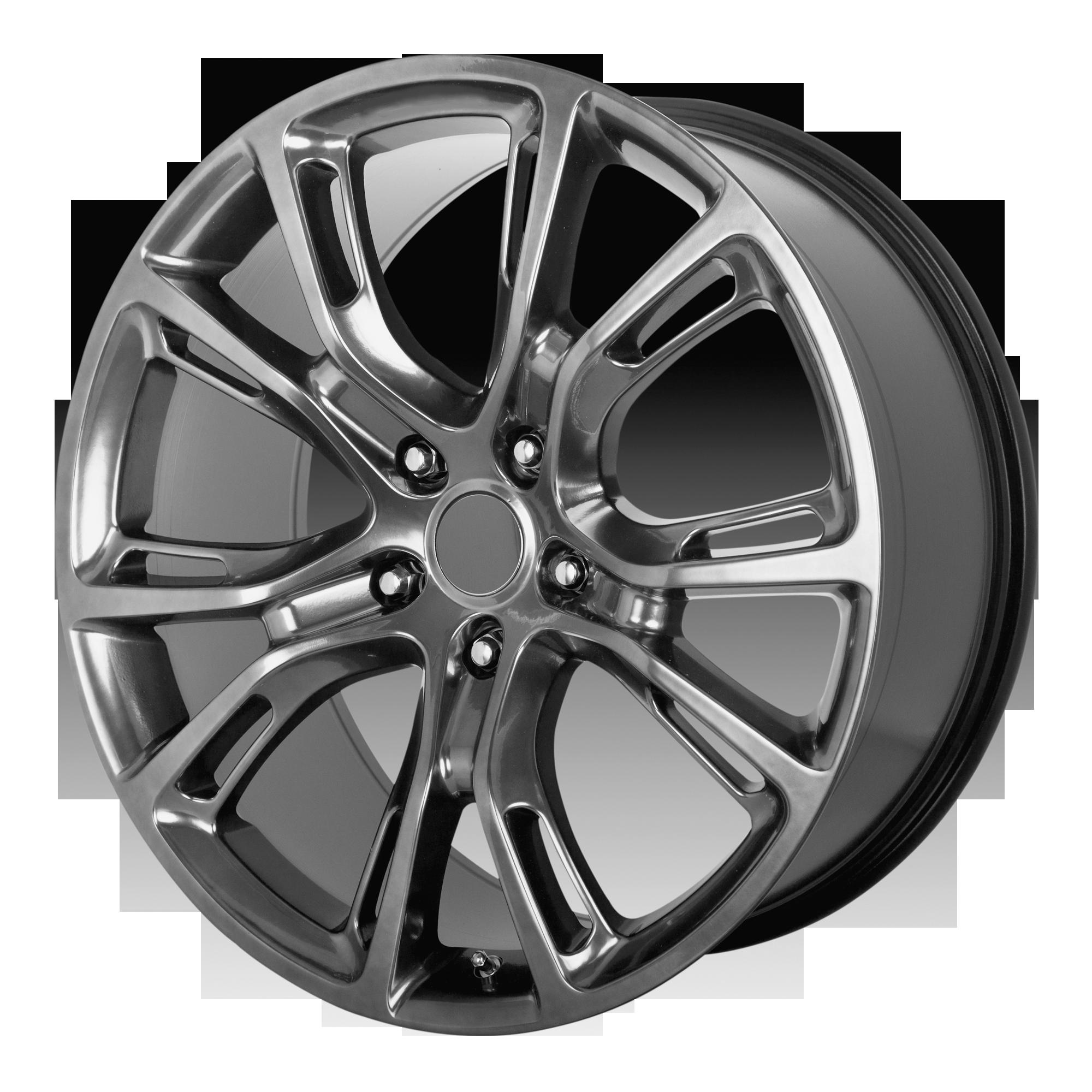 OE Creations Replica Wheels OE Creations PR137 Dark Hyper Silver