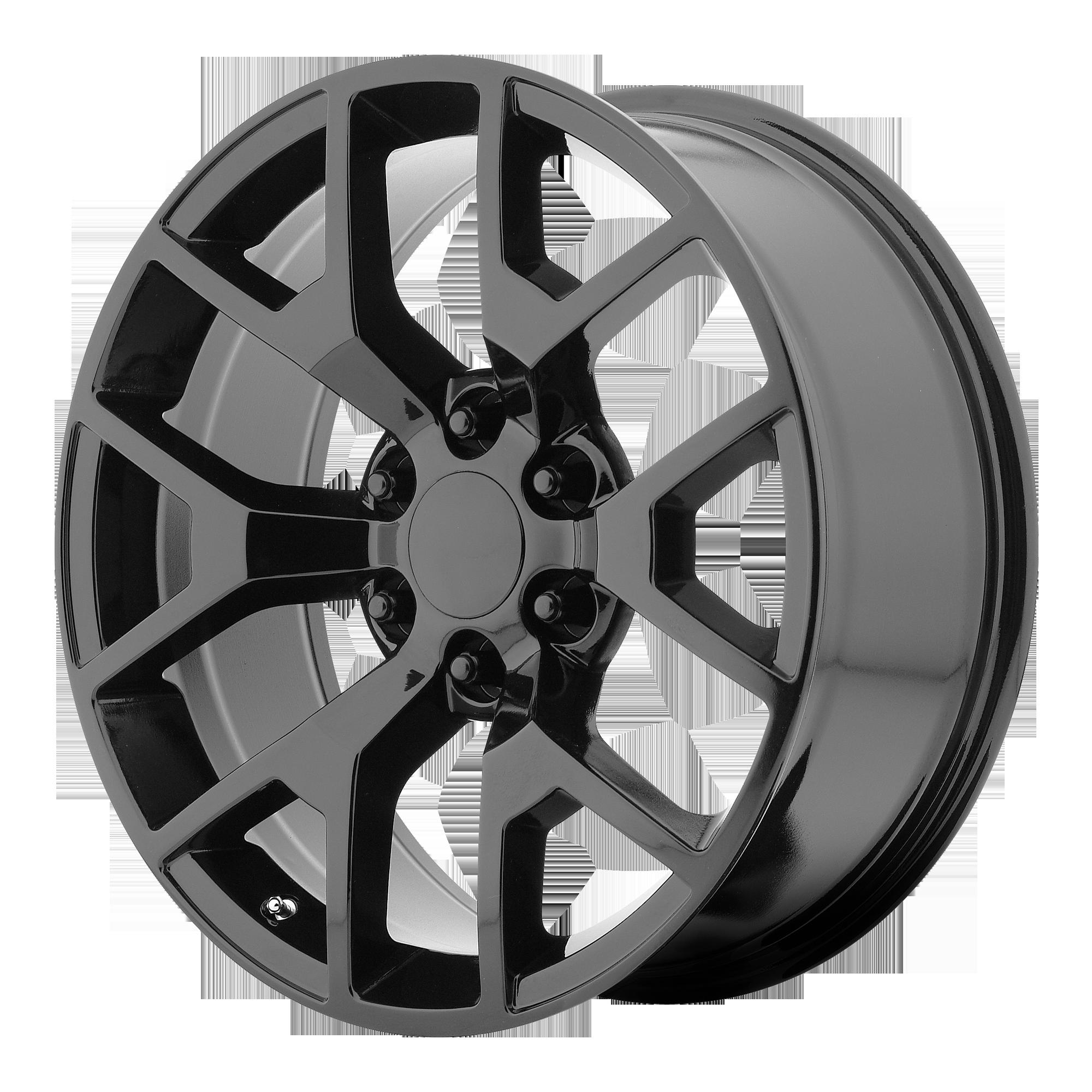 OE Creations Replica Wheels OE Creations PR150 Gloss Black w/ Clear Coat