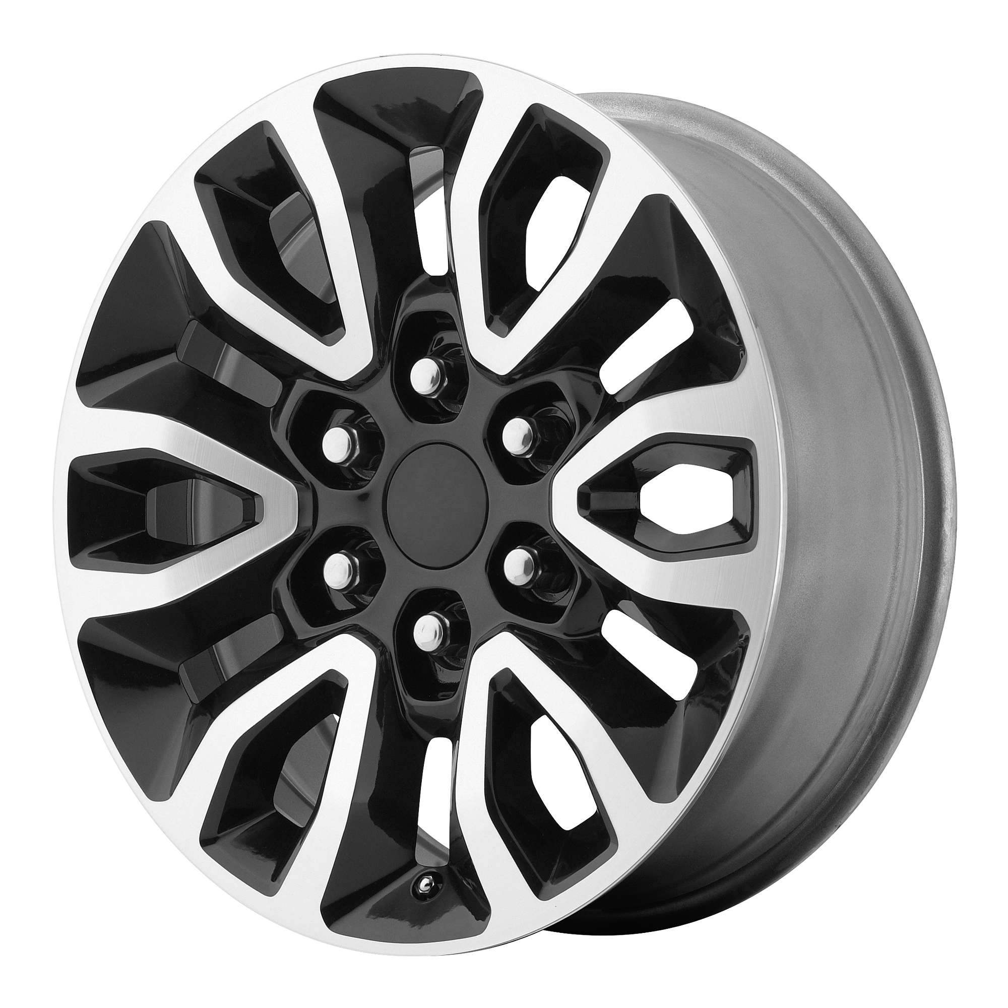 OE Creations Replica Wheels OE Creations PR151 Gloss Black Machined