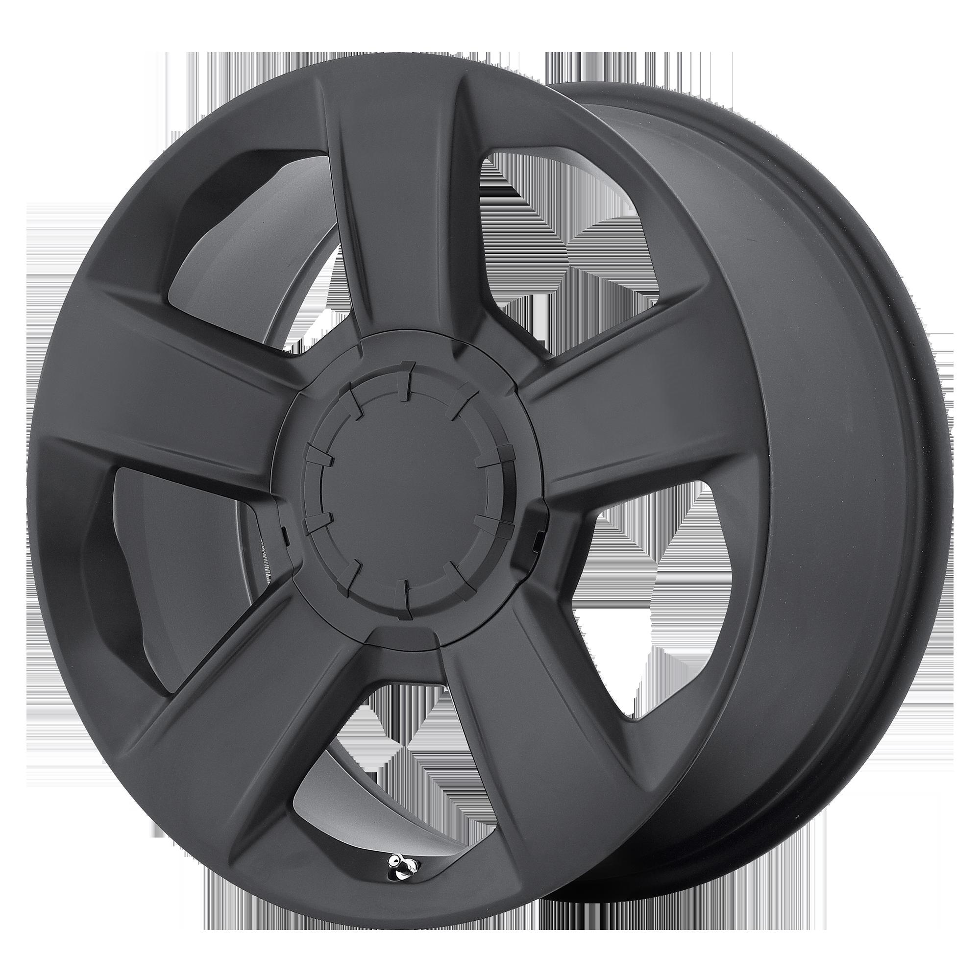 OE Creations Replica Wheels OE Creations PR152 Semi Gloss Black