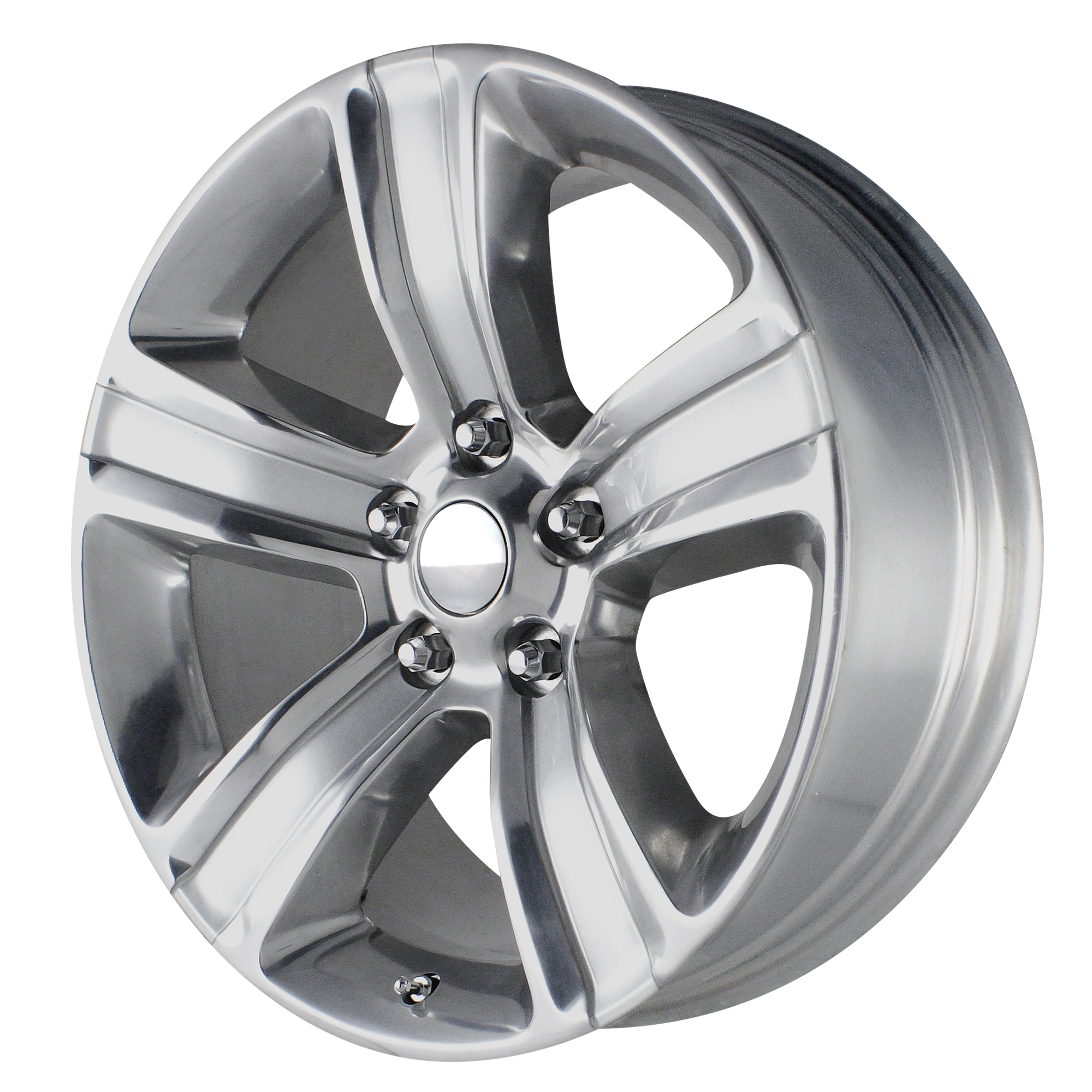 OE Creations Replica Wheels OE Creations PR155 Silver w/ Polished Accents