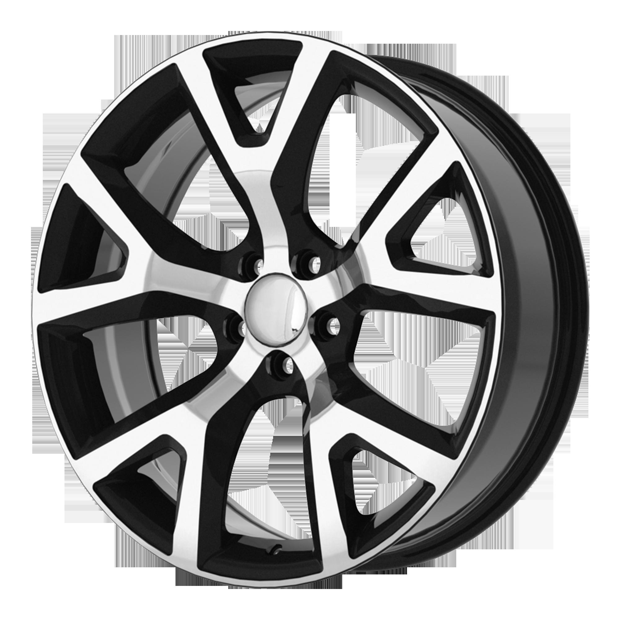 OE Creations Replica Wheels OE Creations PR159 Gloss Black w/ Machined Face