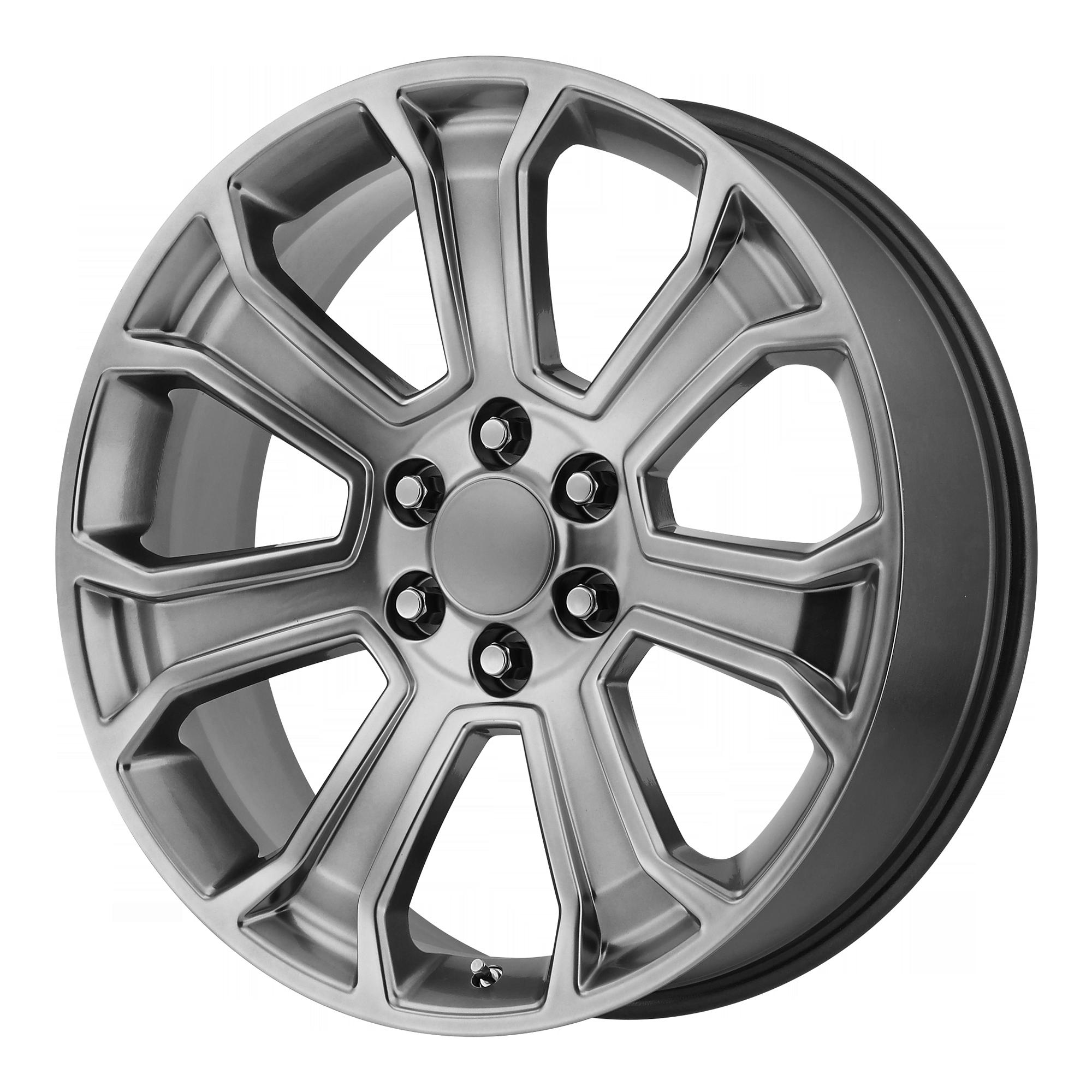 OE Creations Replica Wheels OE Creations PR166 Hyper Silver
