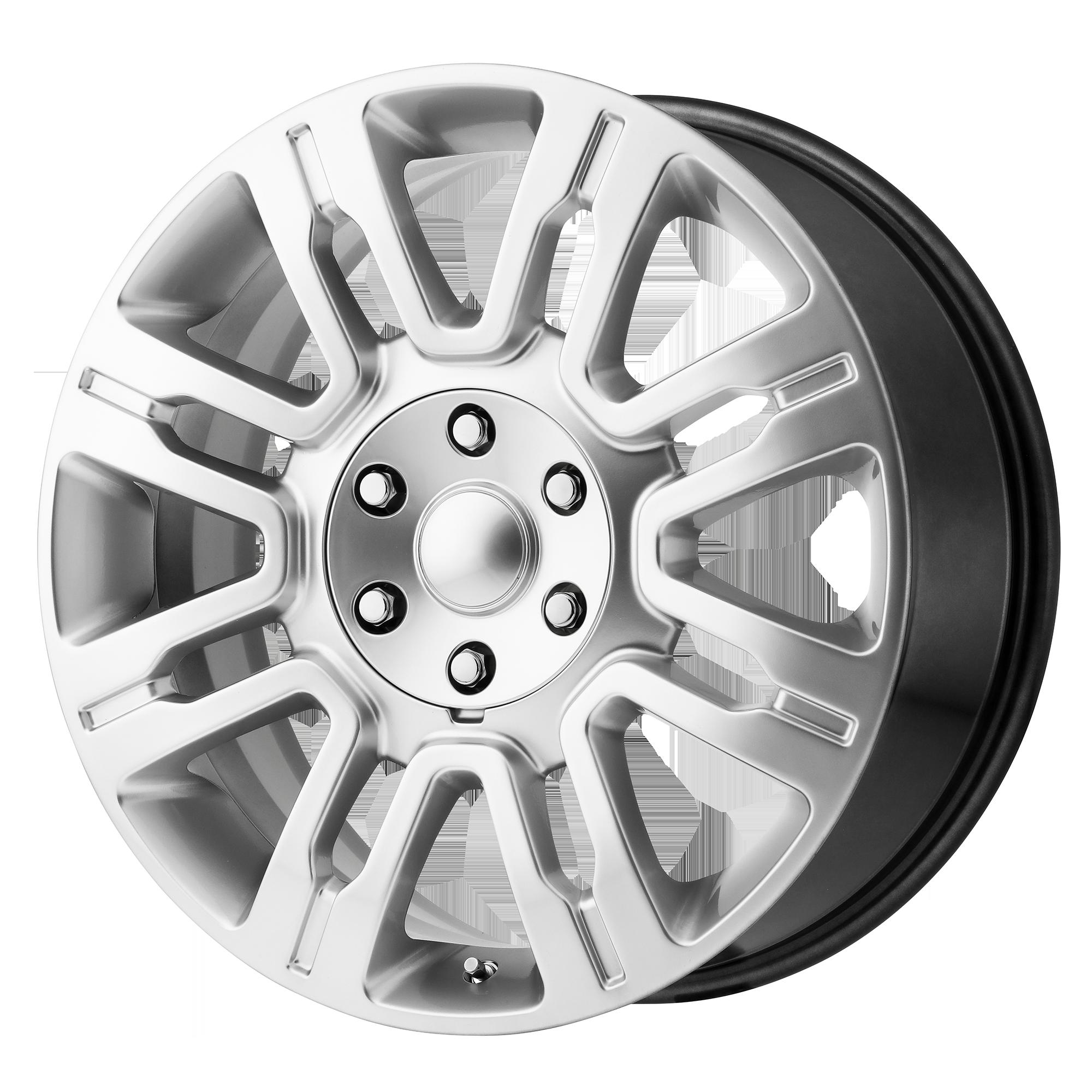 OE Creations Replica Wheels OE Creations PR167 Hyper Silver
